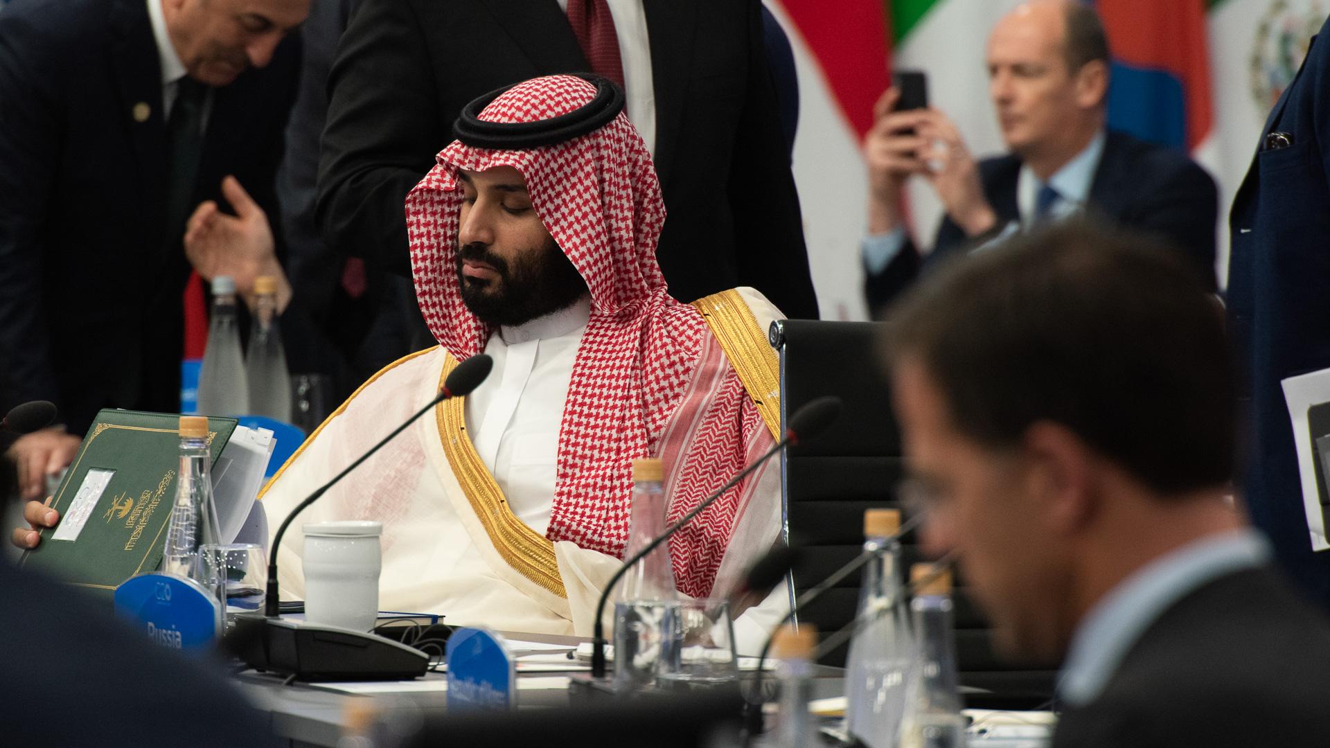 El príncipe Mohammed Bin Salman de Arabia Saudita