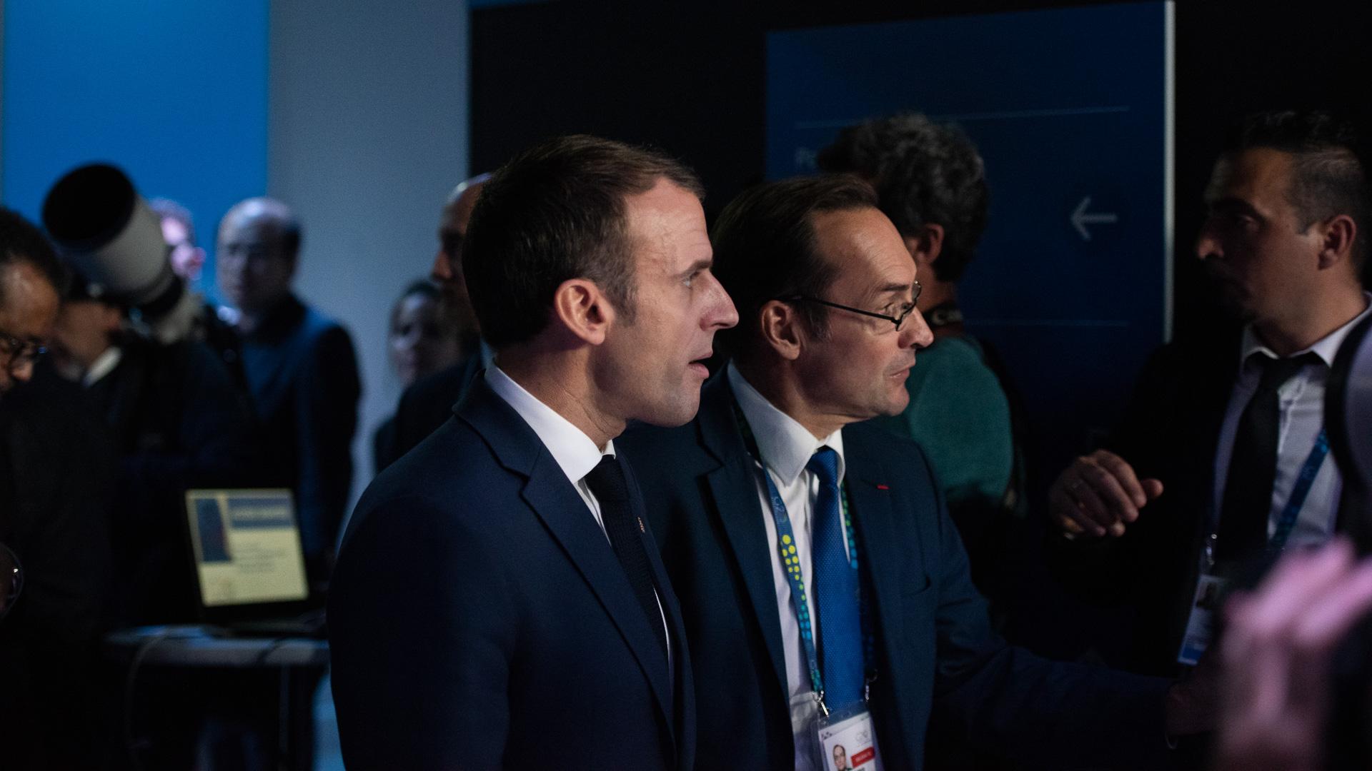 El presidente de Francias, Emmanuel Macron