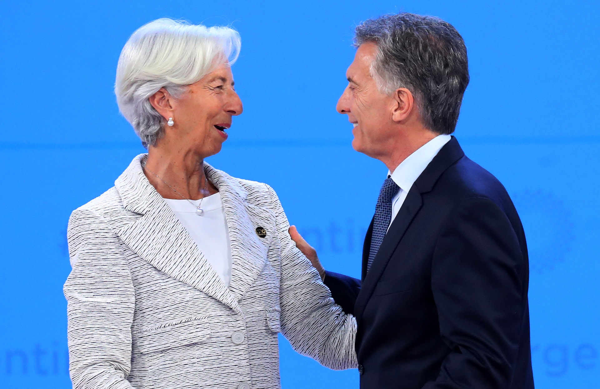 Christine Lagarde y Macri