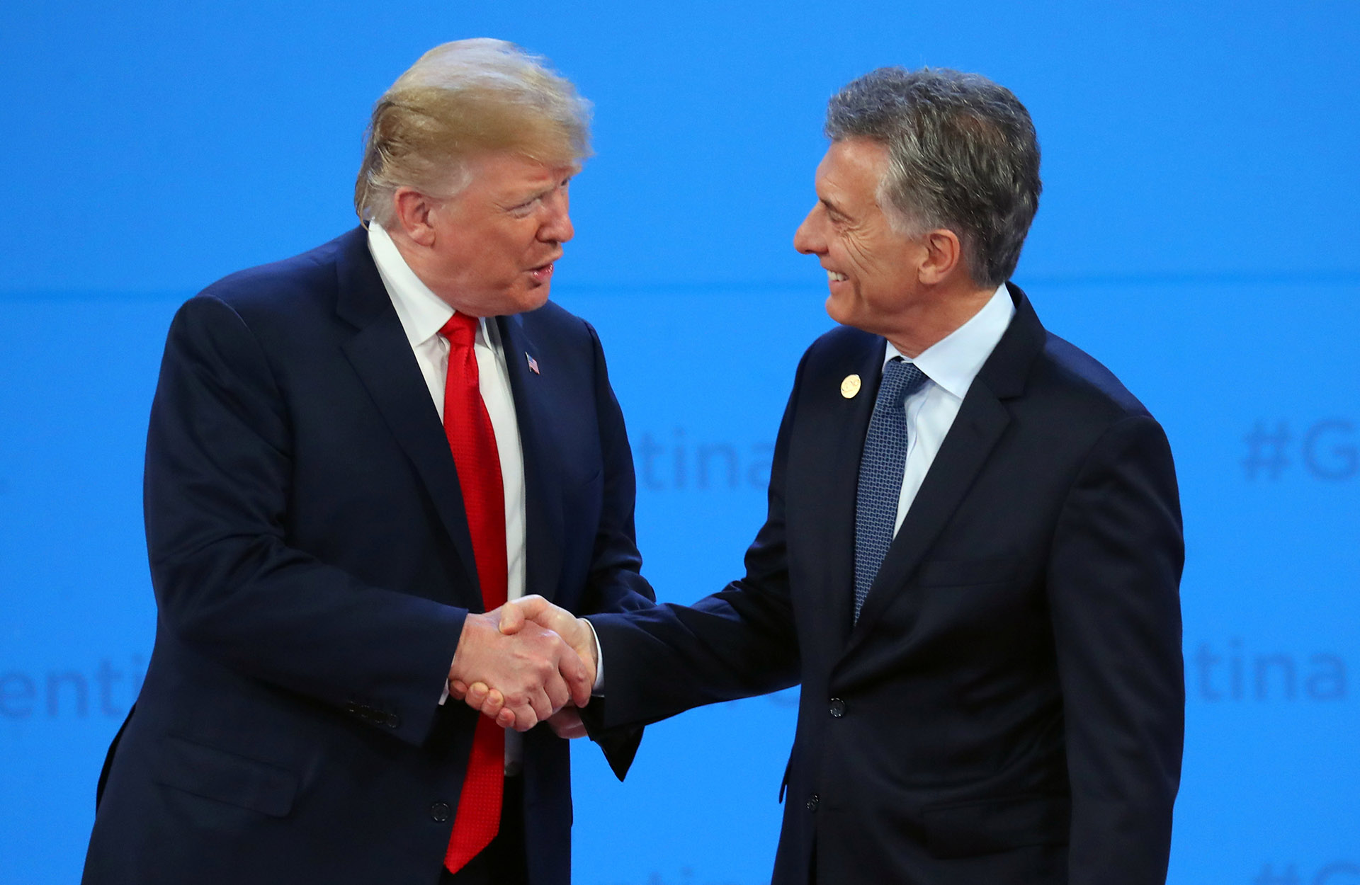 Macri y Trump mantienen una muy buena relación, pero la Corte de los EEUU ha fallado varias veces en contra de la Argentina