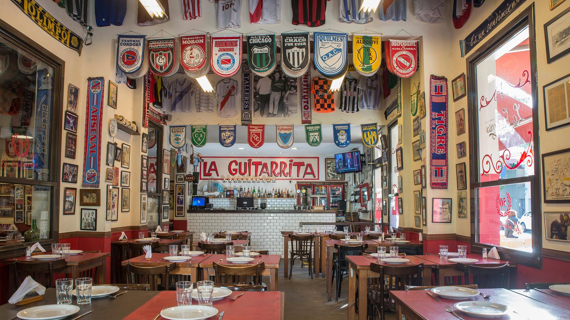 La Guitarrita ofrece emblemáticas preparaciones ideadas por su maestro pizzero don Jorge Antonio Grillo