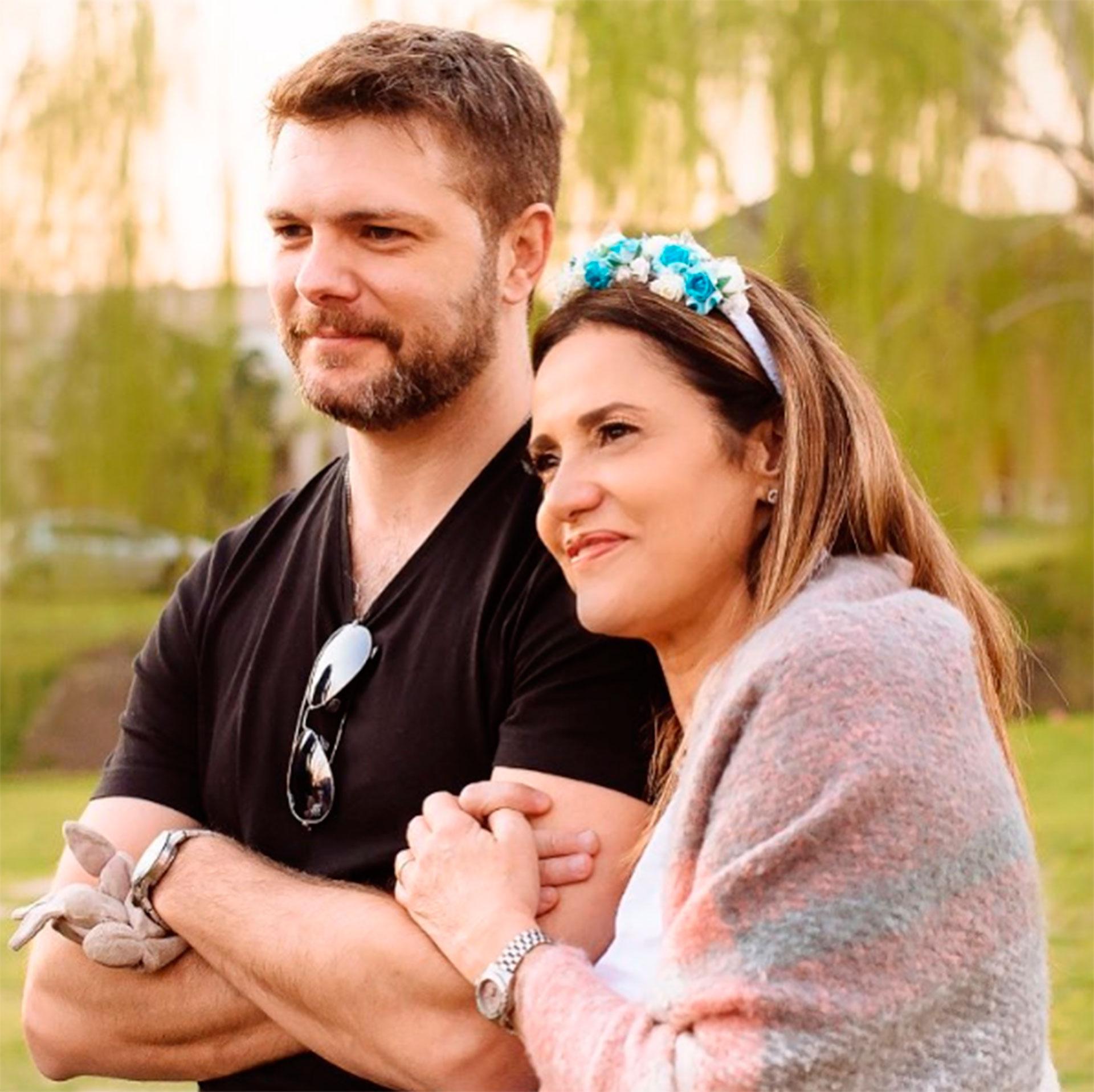 Callejón y su esposo