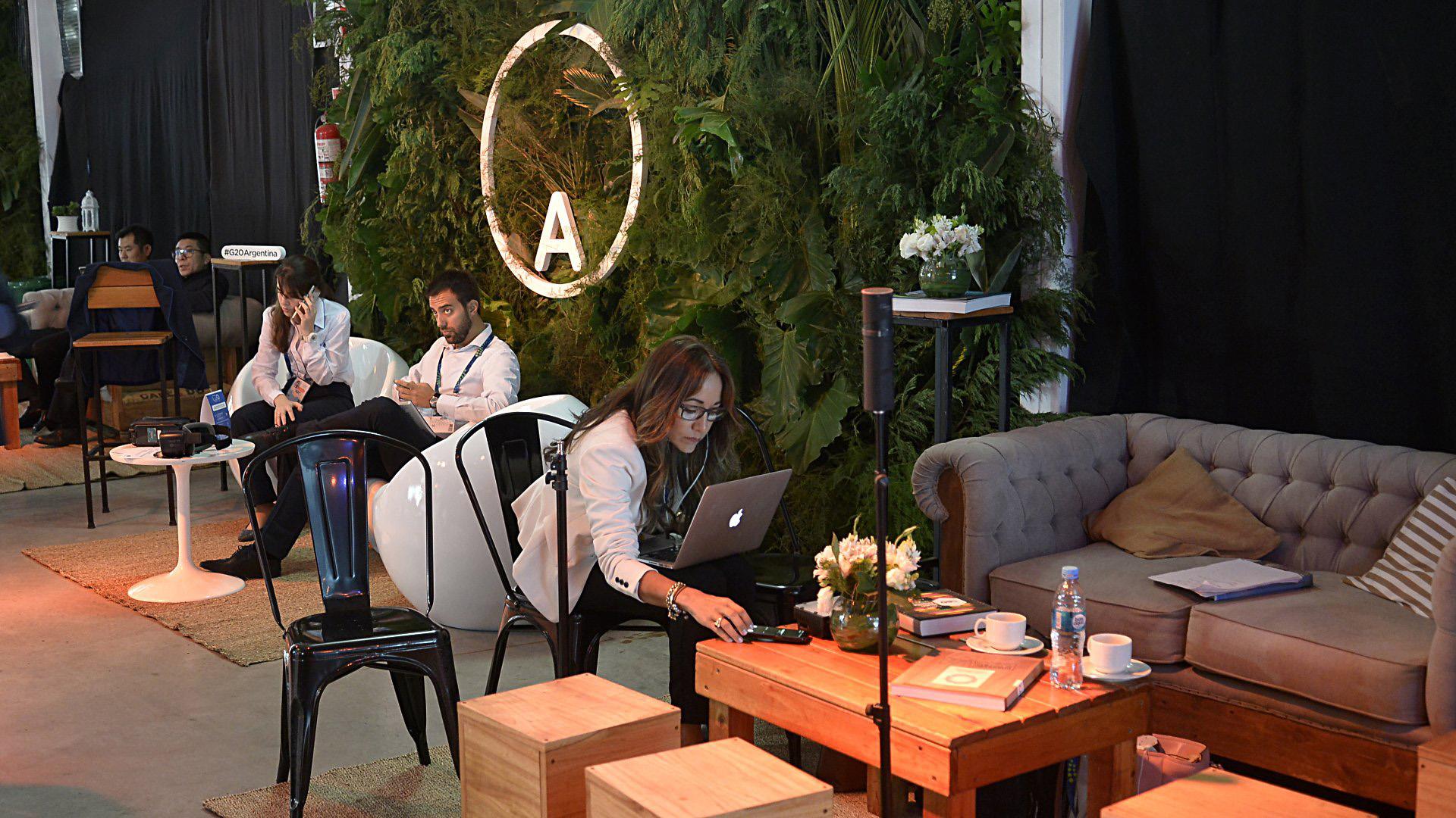 """El predio cuenta con un espacio de relax o """"lounge"""", según los organizadores"""