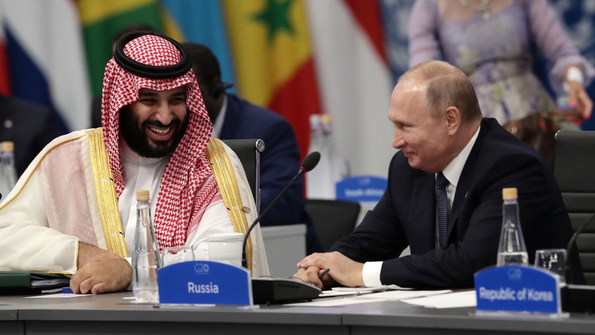 Bin Salman y Putin