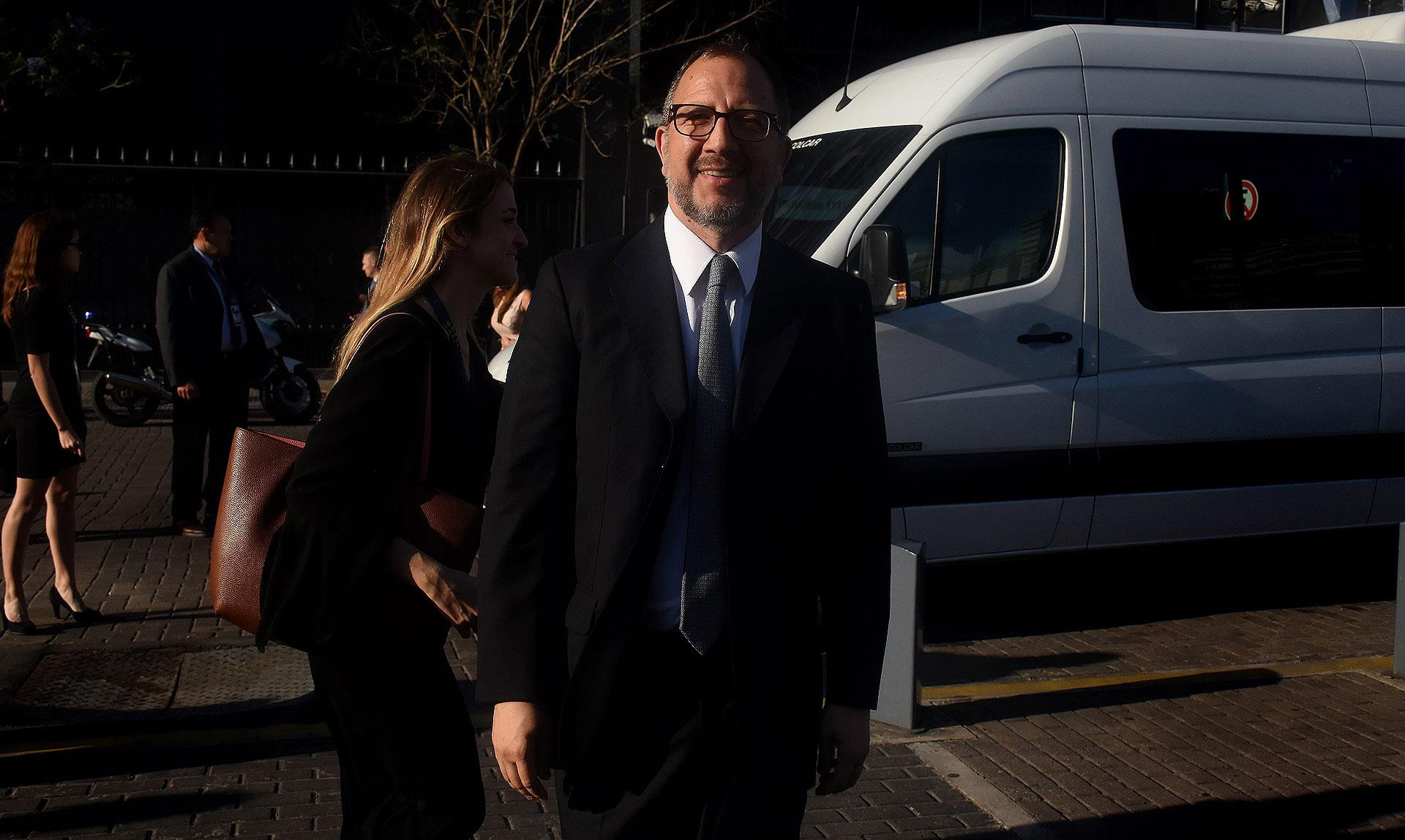 El Secretario General de la provincia de Buenos Aires, Fabián Perechodnik