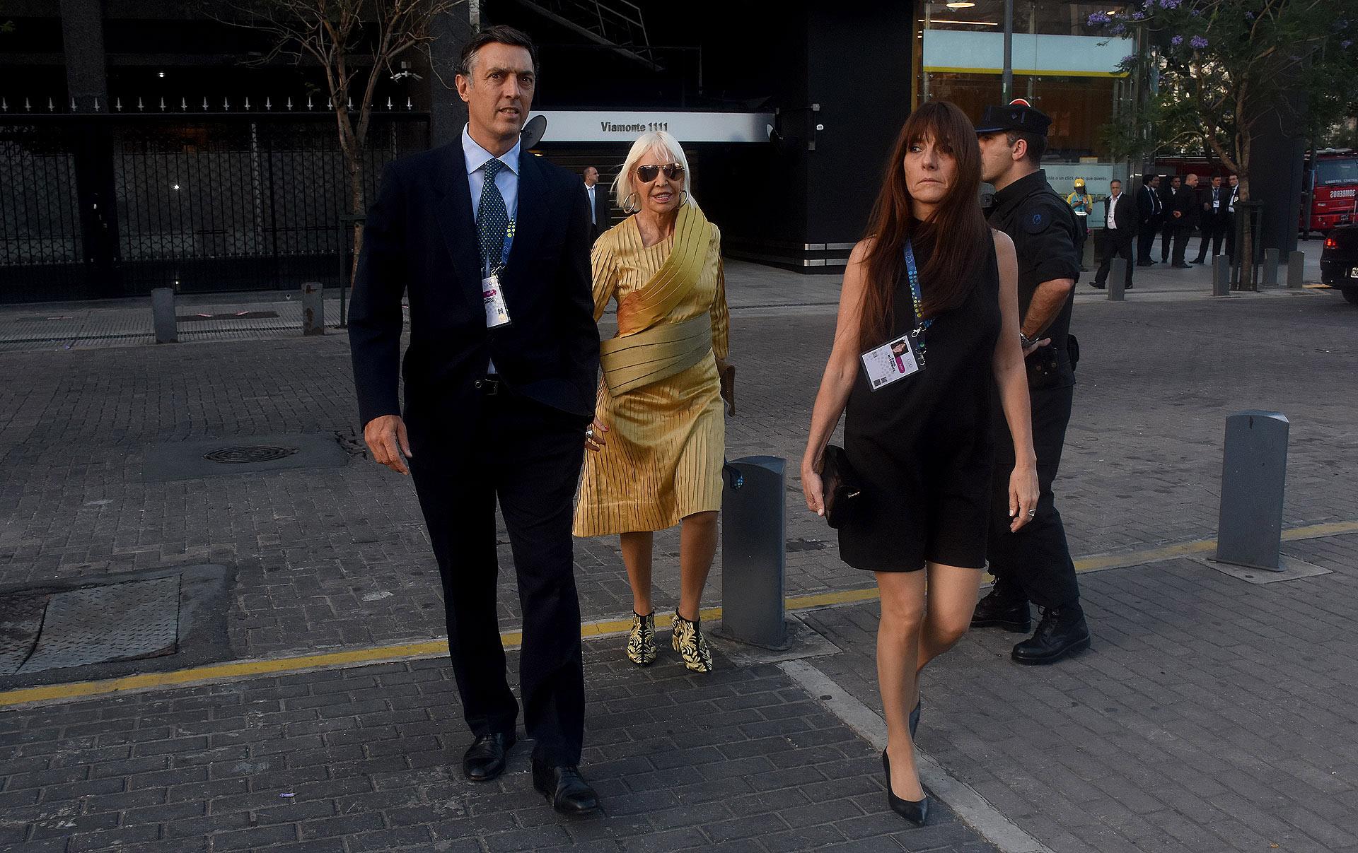 Facundo Gómez Minujín y Marta Minujín