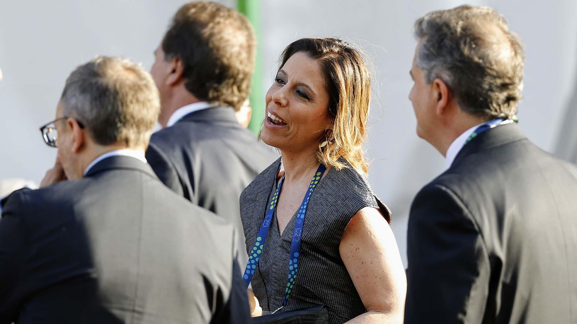 La titular de la Oficina Anticorrupción, Laura Alonso