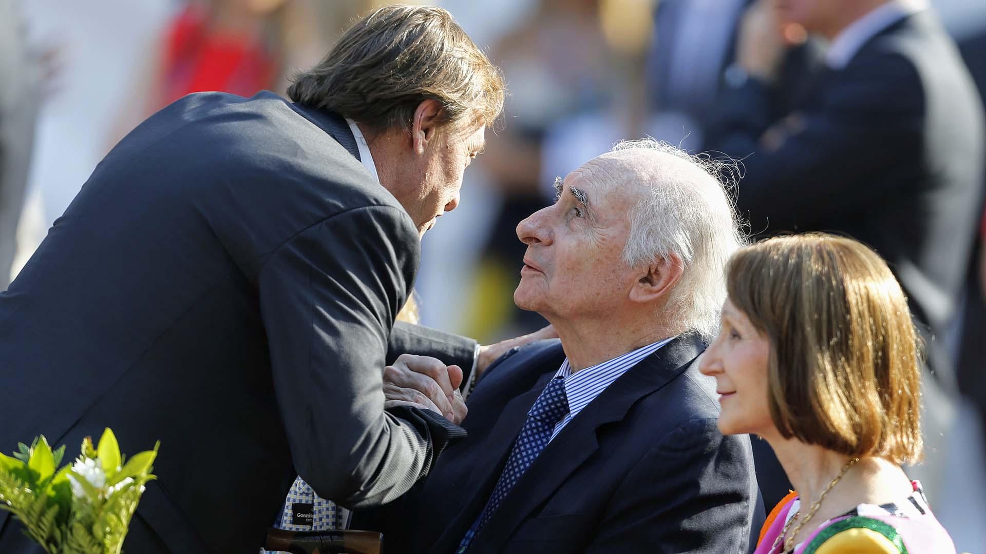 El ex presidente en uno de los actos oficiales que se realizaron en el marco del reciente G20. Participó, por ejemplo, en la gala del Teatro Colón