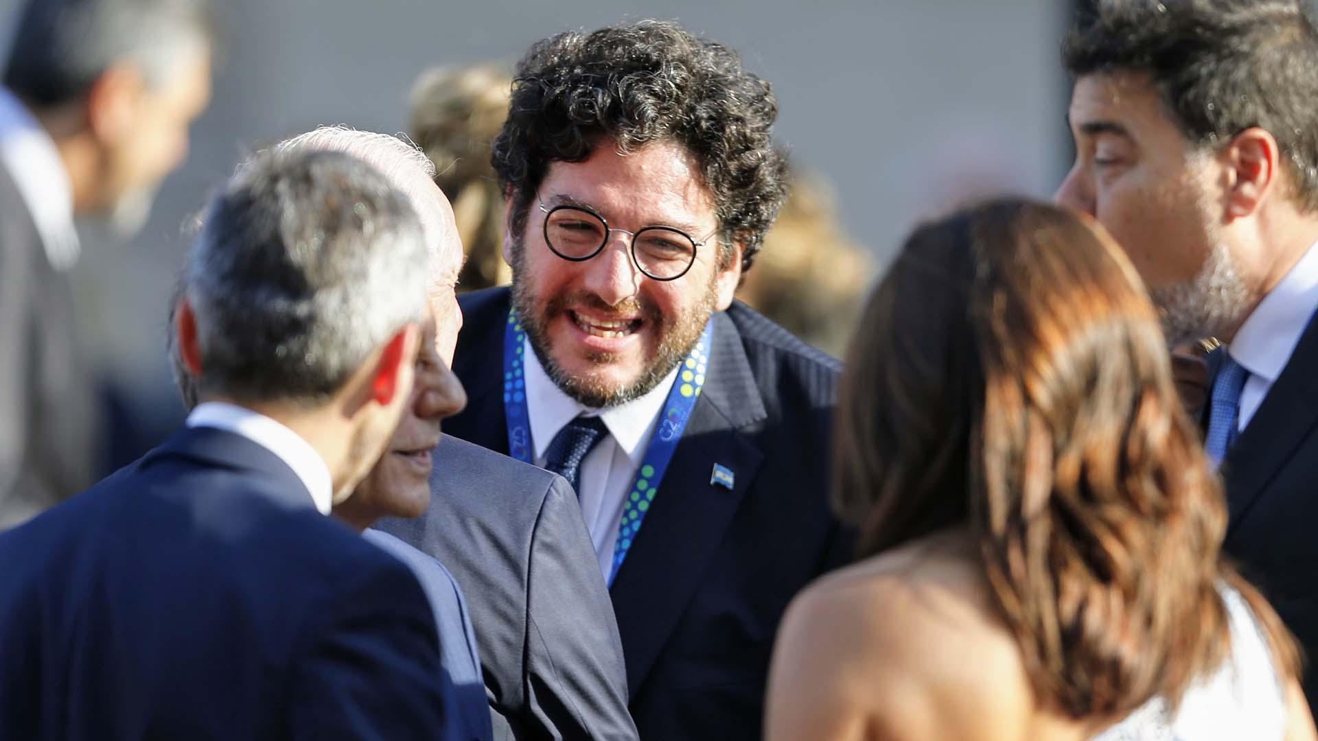 El secretario de Cultura, Pablo Avelluto