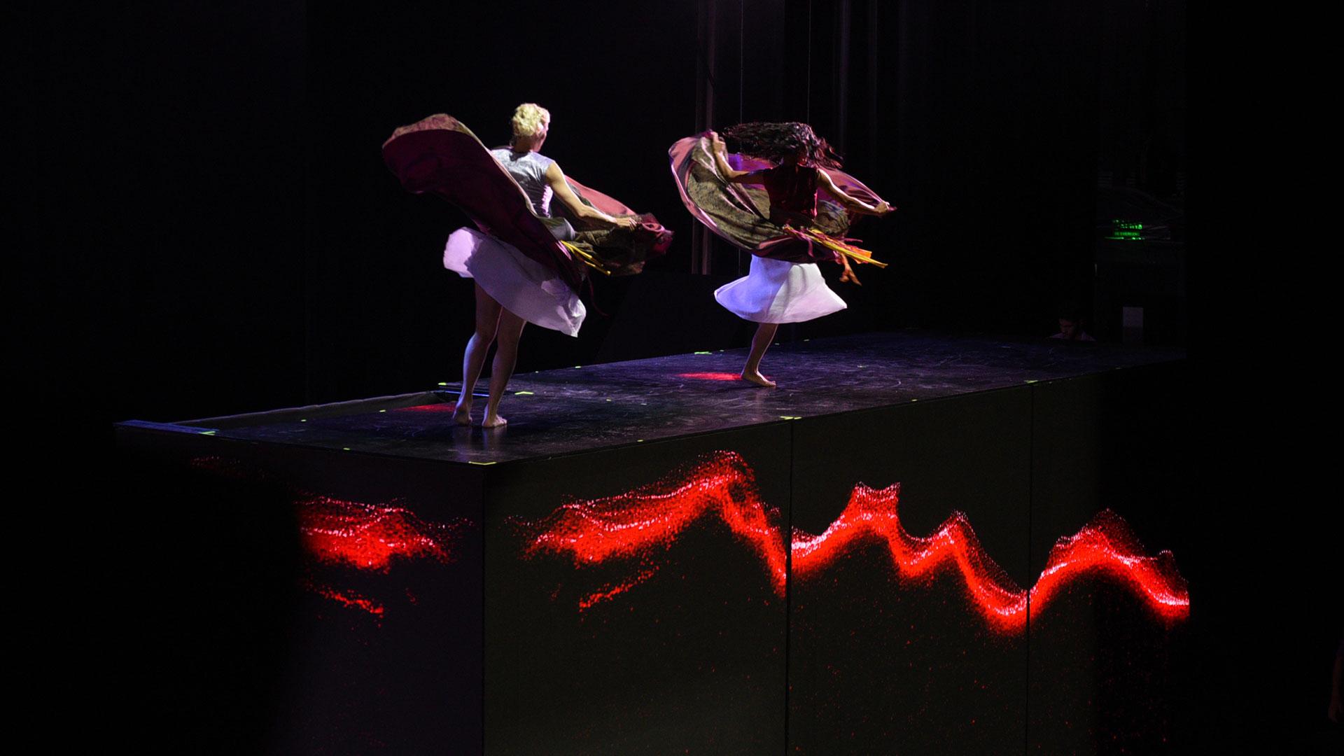 El show en el Teatro Colón