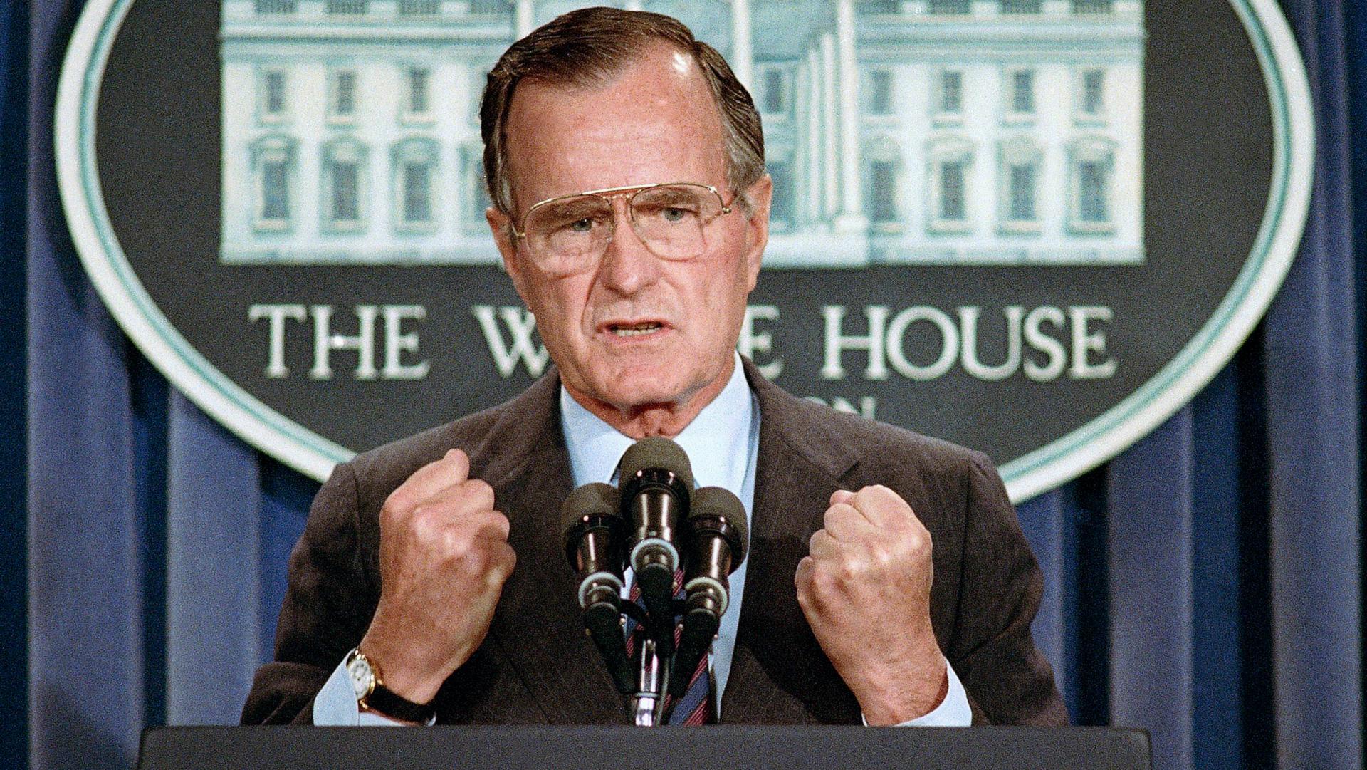 George H.W. Bush. (Reuters)