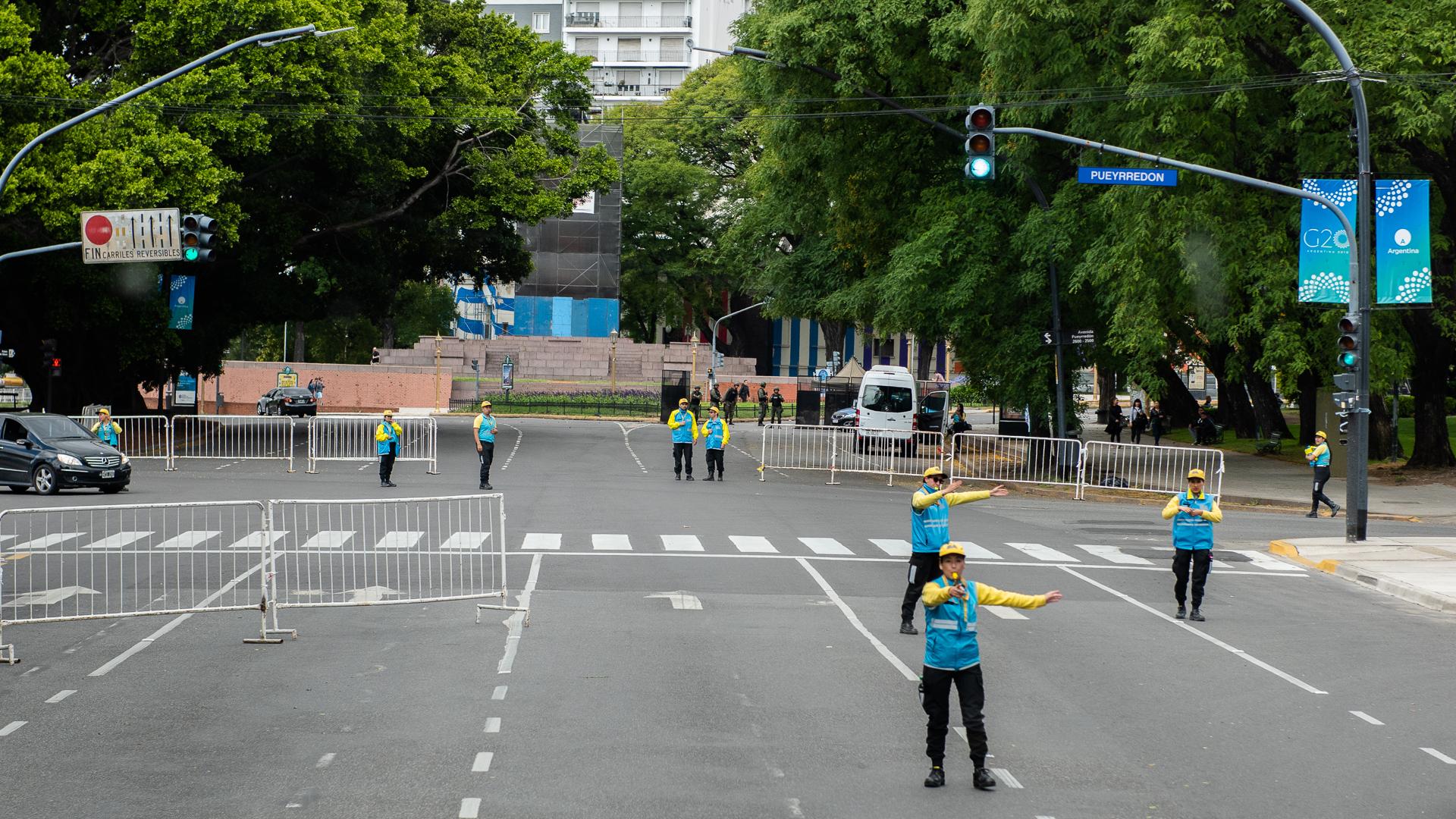 Los cortes de calle en el centro porteño