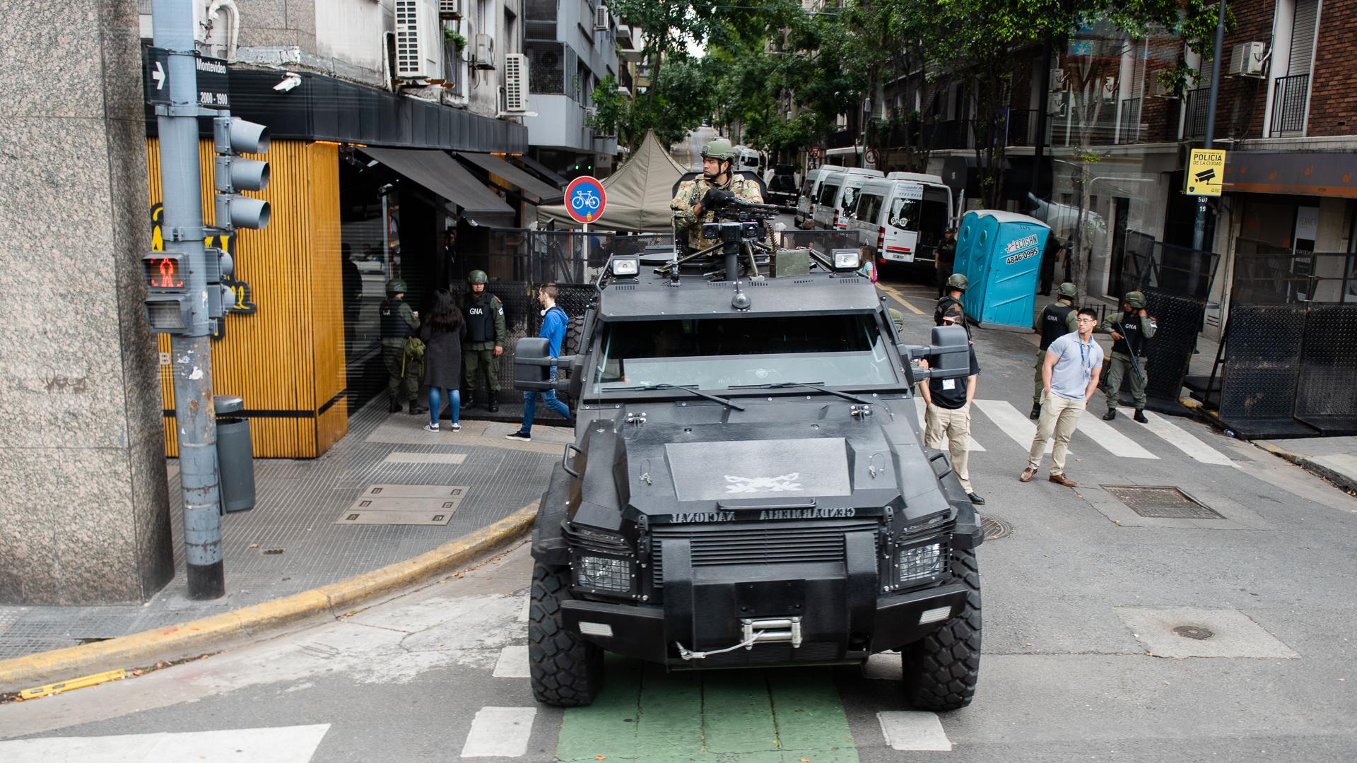 El Gobierno dispuso de un férreo operativo de seguridad para que no se produzcan incidentes