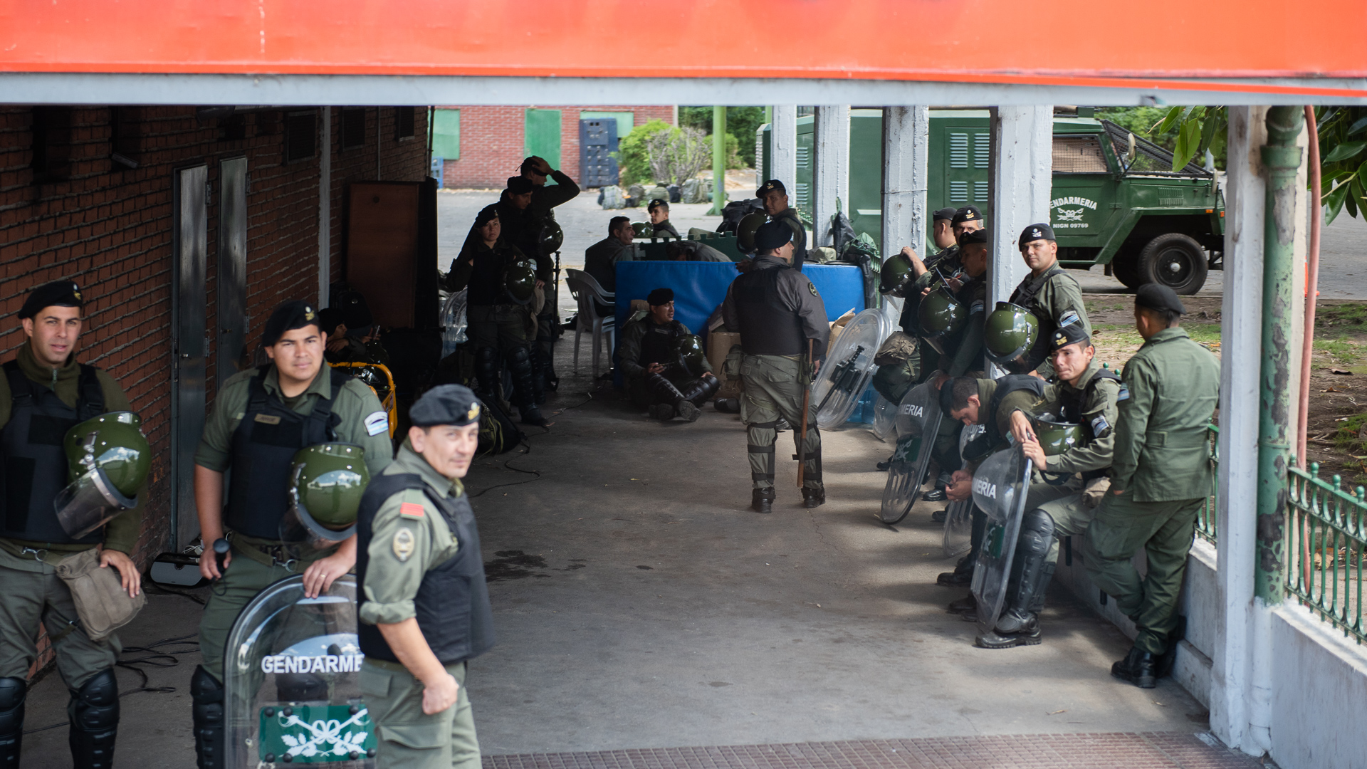 El Gobierno destinó 22 mil agentes de las fuerzas de seguridad para el operativo G20