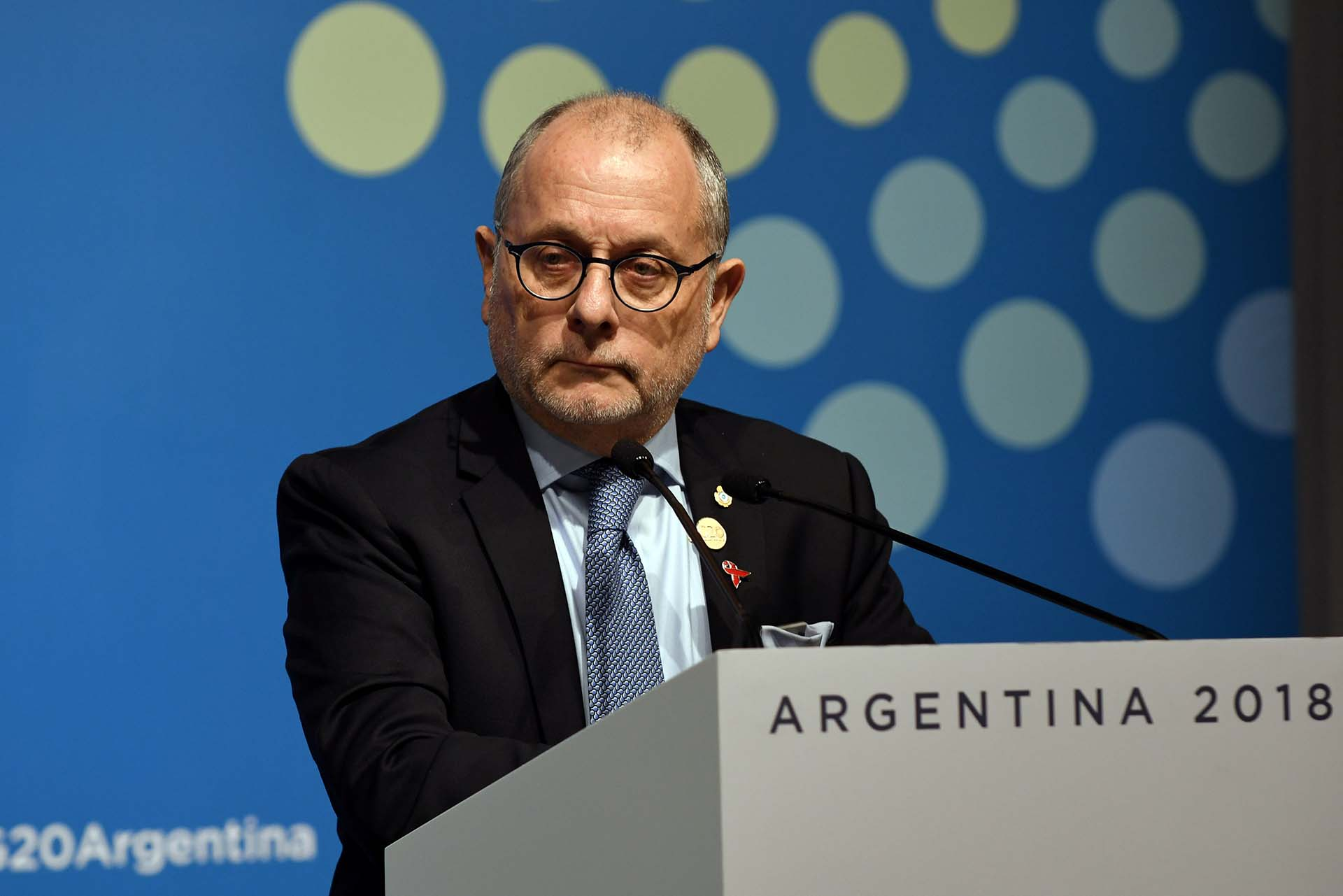 El canciller argentino Jorge Faurie