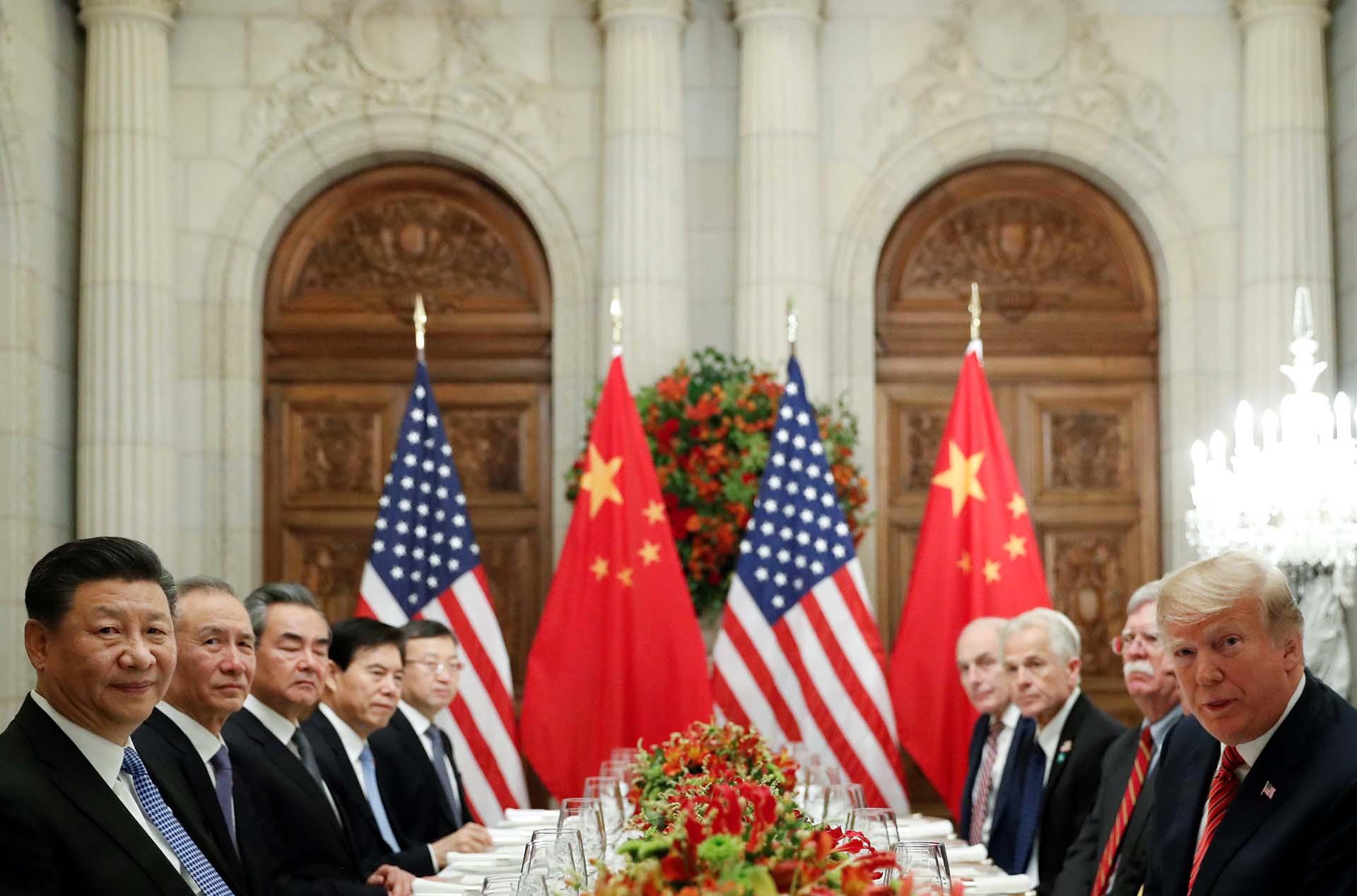 Donald Trumpy Xi Jinpingse reunieron tras el fin de la cumbre