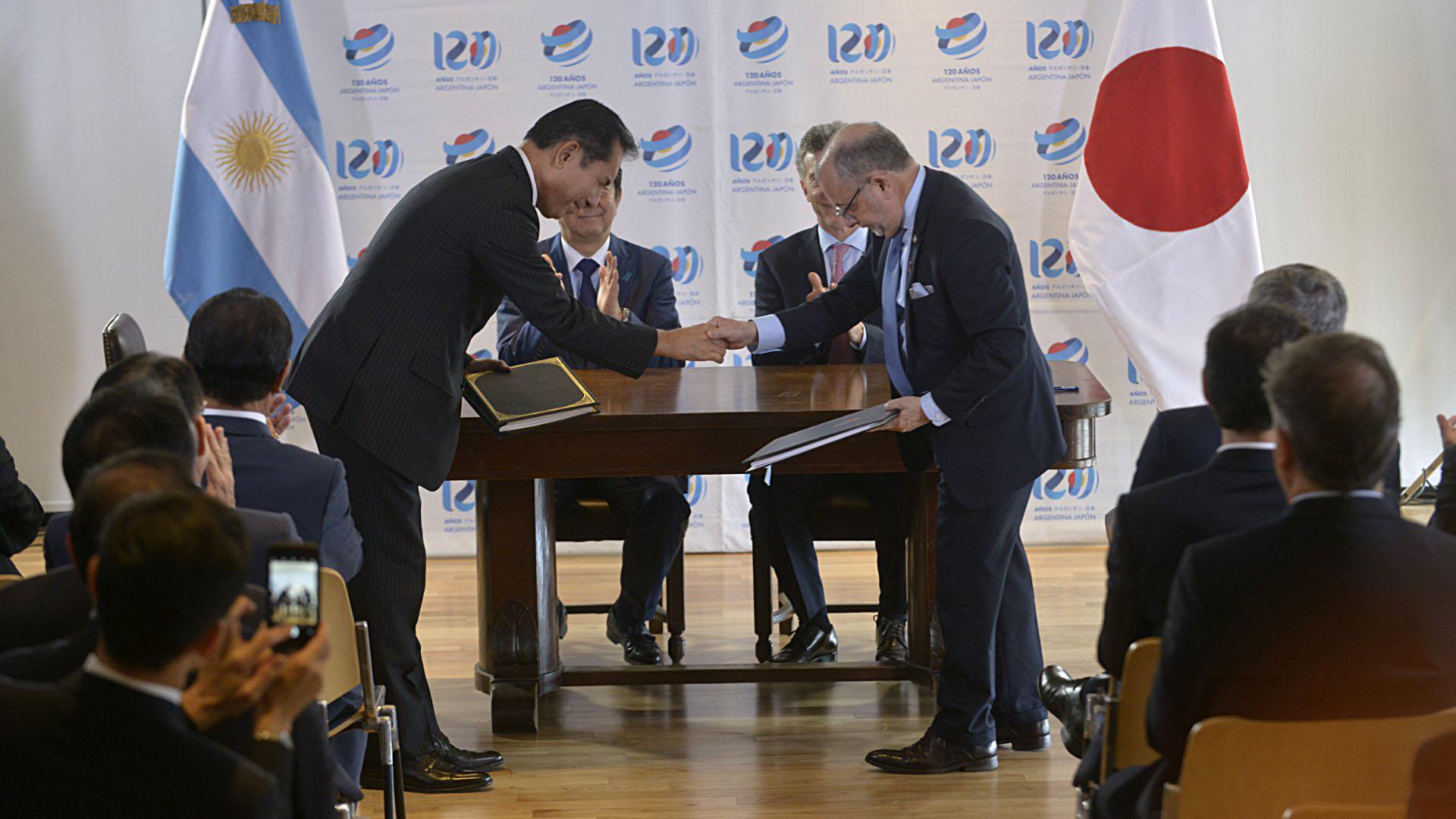 La firma del convenio