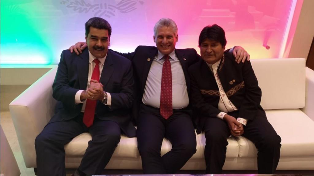 La foto que unió a los países latinoamericanos (Foto: Twitter @DiazCanelB)