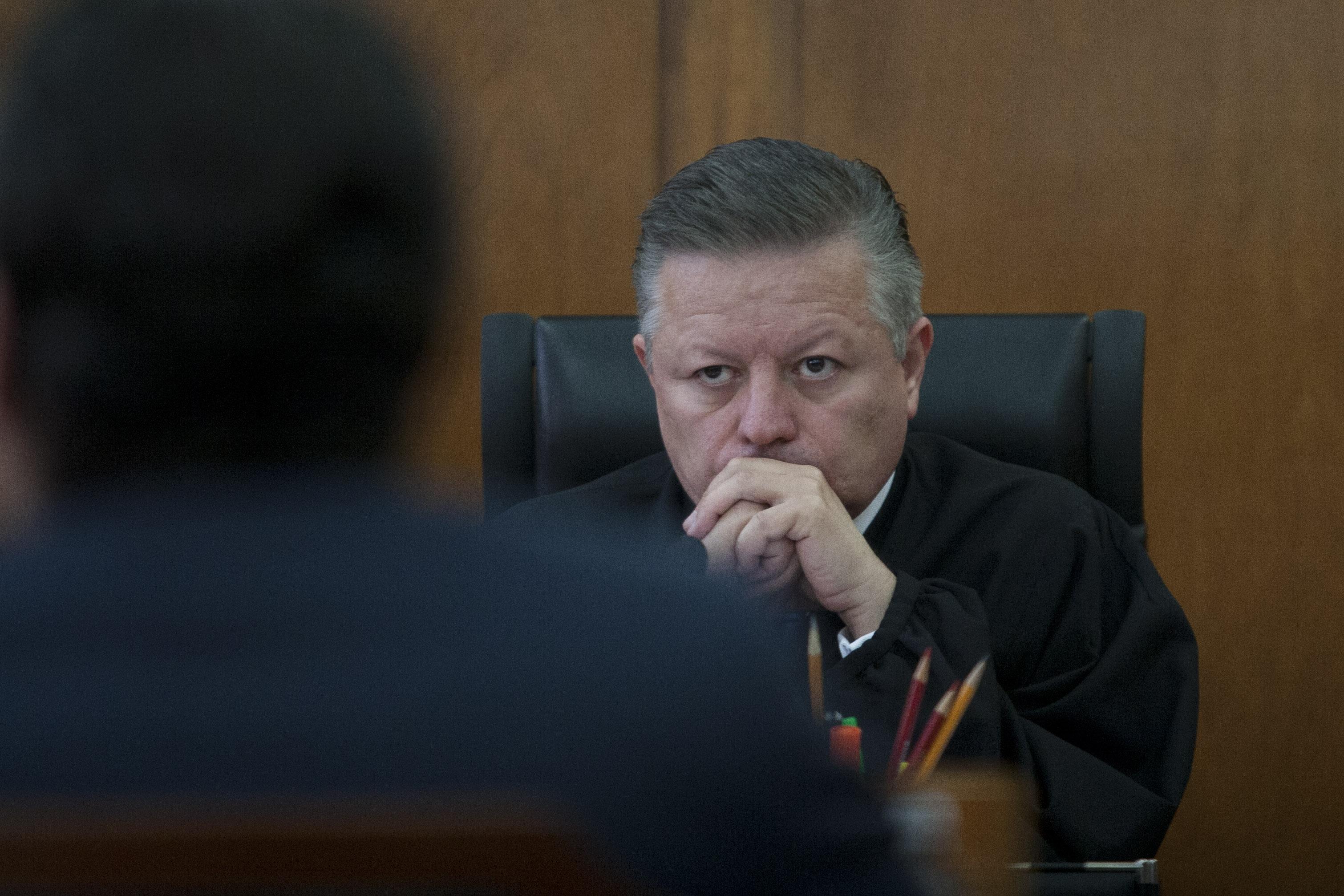 Arturo Zaldívar Ministro Presidente de la Primera Sala de la Suprema Corte de Justicia de la Nación (SCJN) (FOTO: GUILLERMO PEREA /CUARTOCURO.COM)