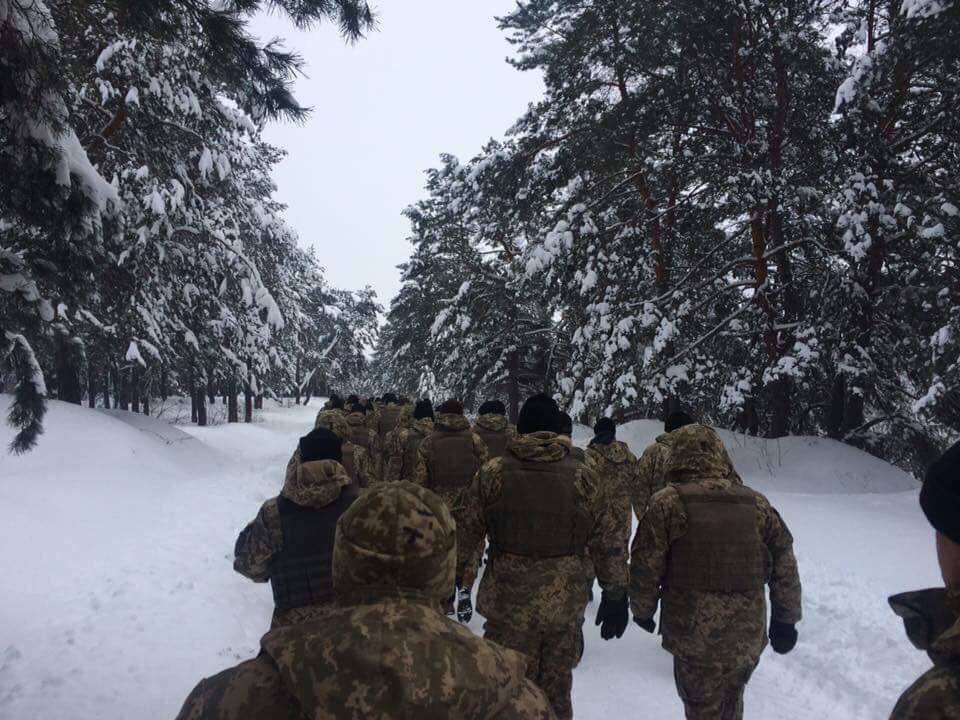 Fuerzas militares ucranianas (Facebook/UkrainianLandForces via UNIAN)