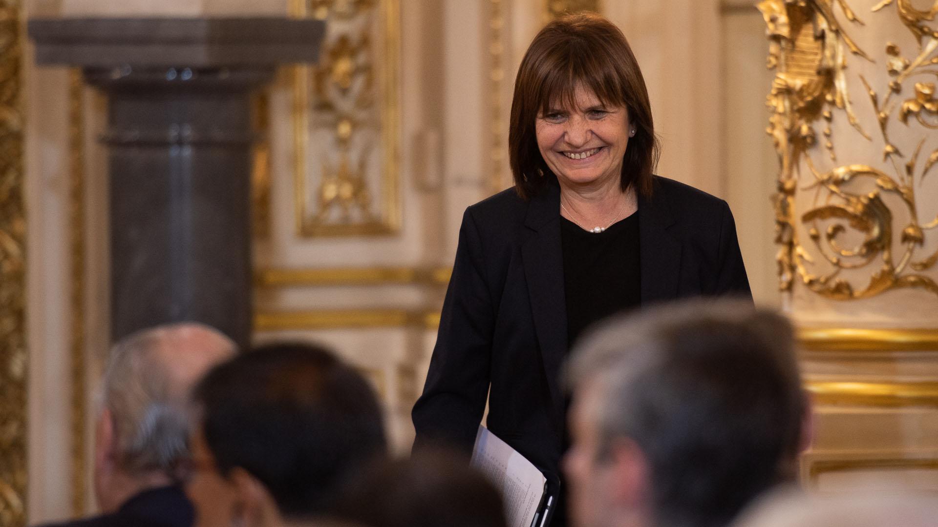 Patricia Bullrich también superó una prueba importante en el G20 (Adrian Escandar)