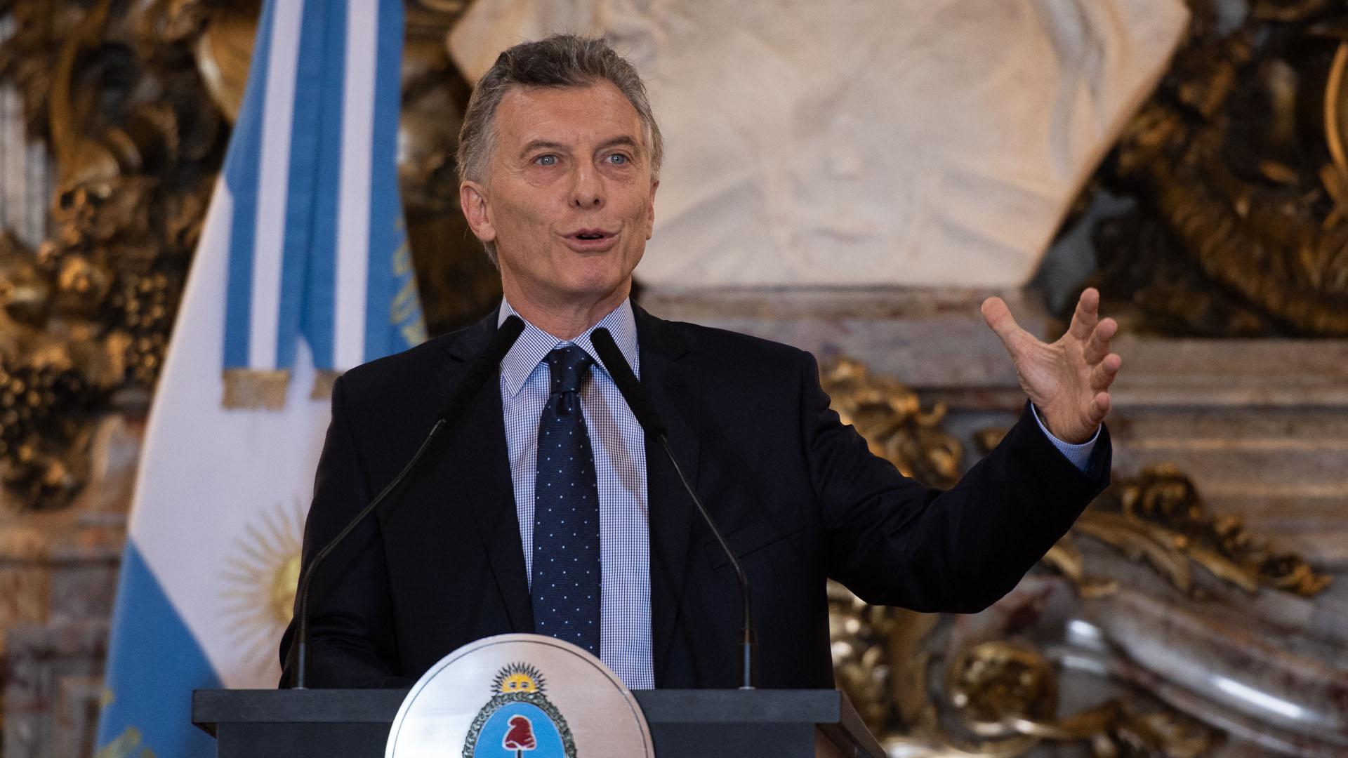 Mauricio Macri (Adrian Escandar)