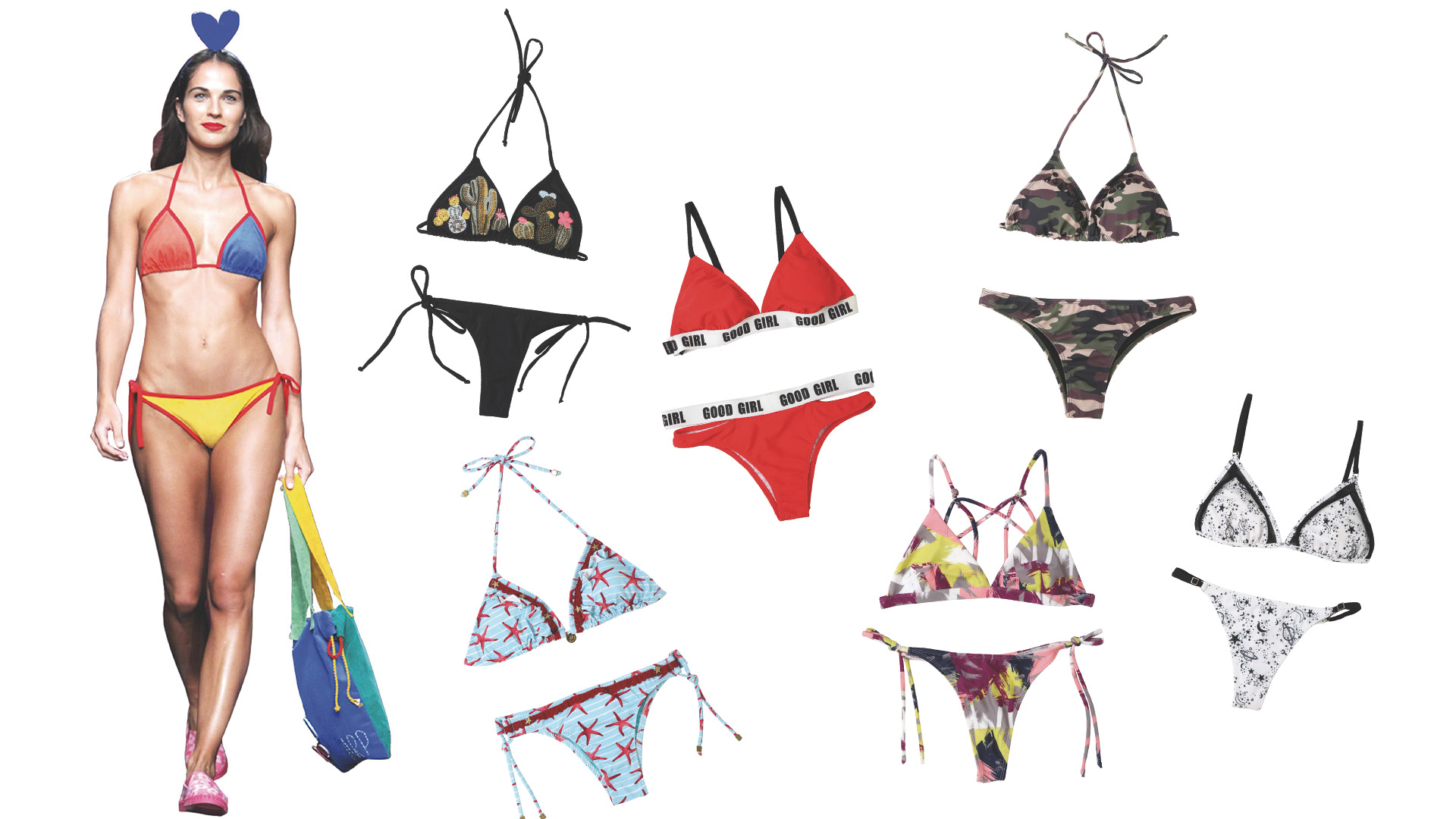 5a07cb59f49b Bikinis triangulito un clásico infaltable para el verano - Infobae