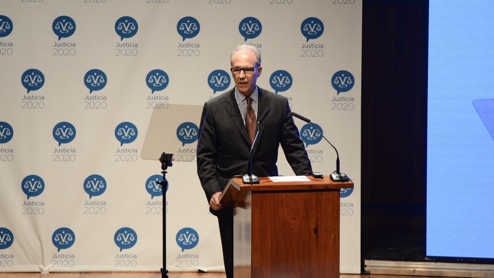 Carlos Rosenkrantz, presidente de la Corte Suprema (Foto: Julieta Ferrario)