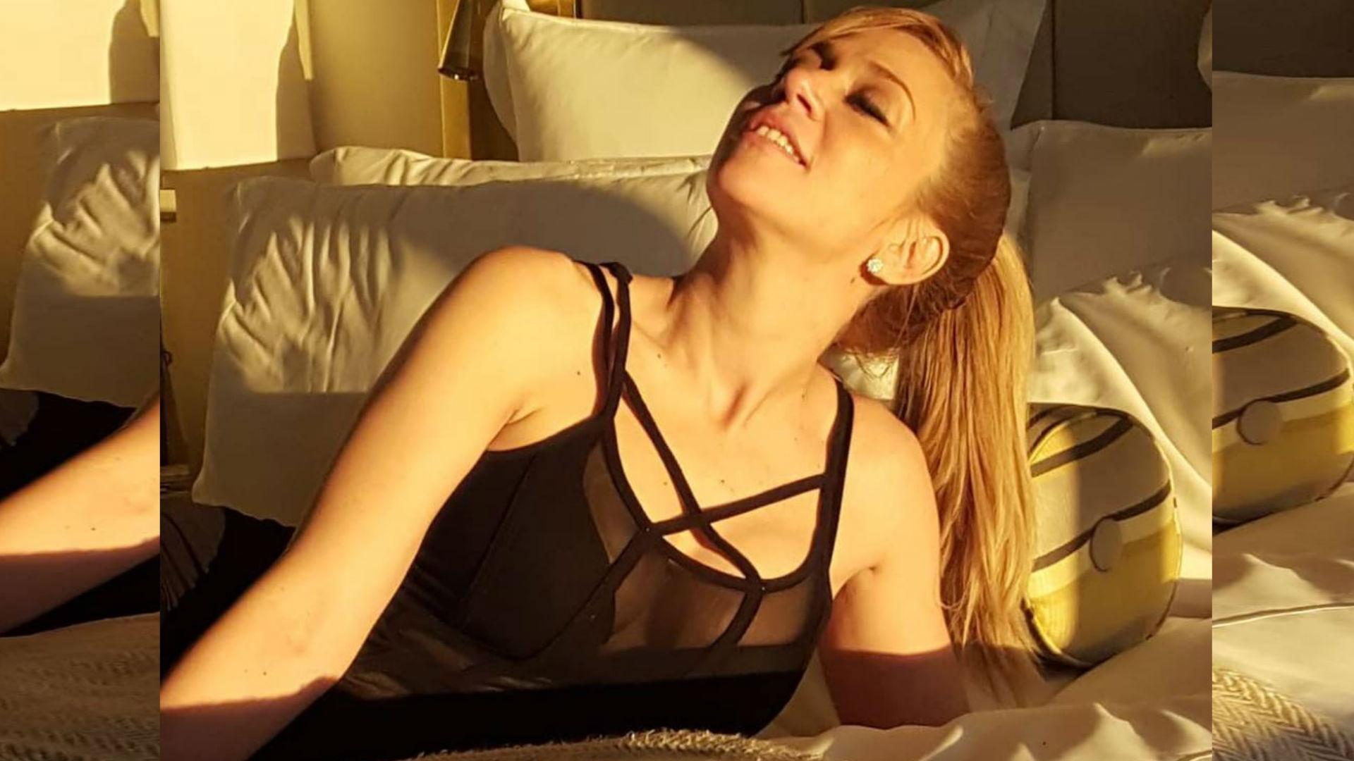 Noelia se convirtió en actriz de contenidos sexuales