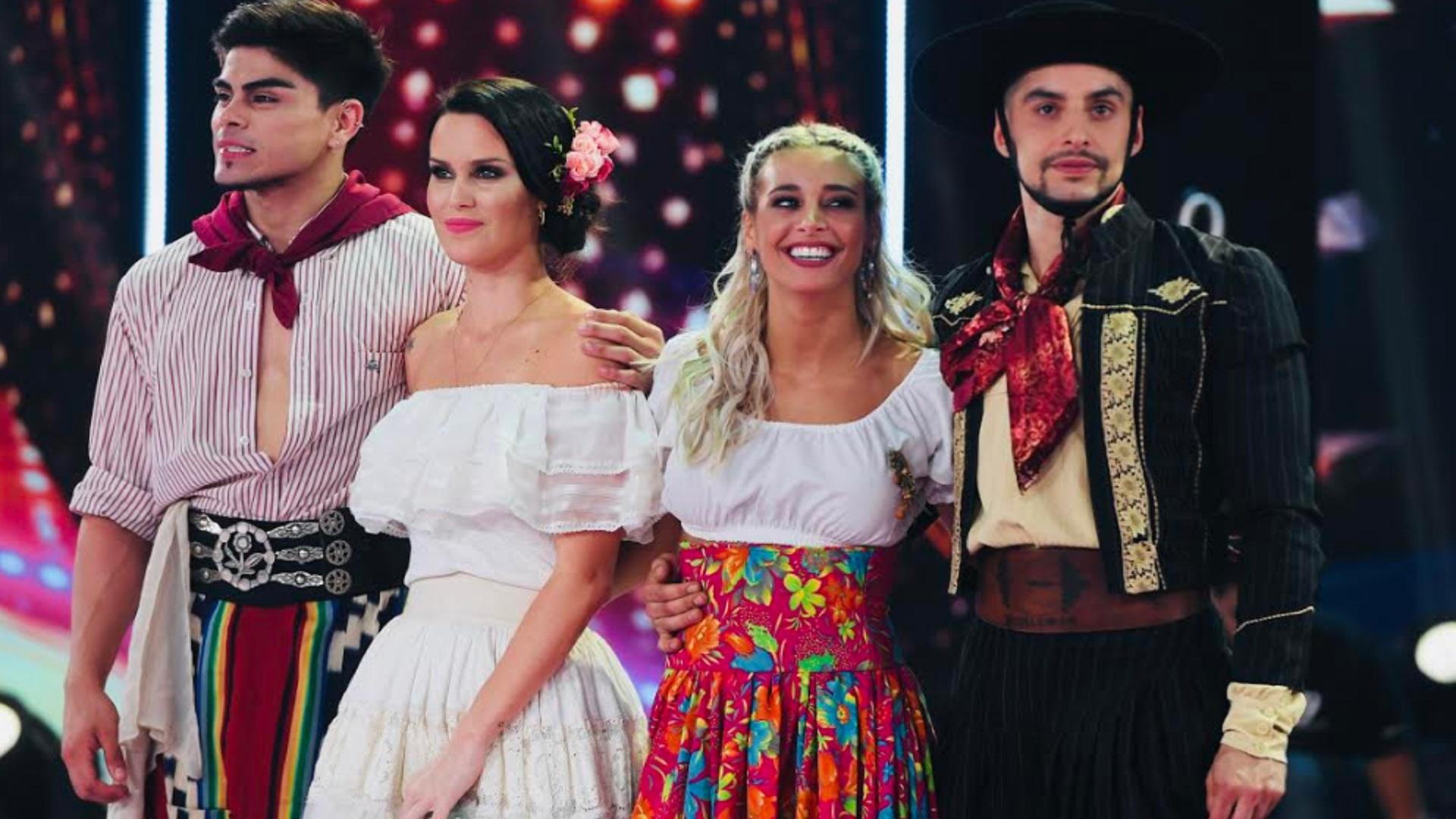 """Natalie Weber quedó eliminada del """"Bailando"""", luego de perder en el duelo telefónico con Sol Pérez. La Chica del Tiempo se impuso por 51, 38% en el voto del público"""