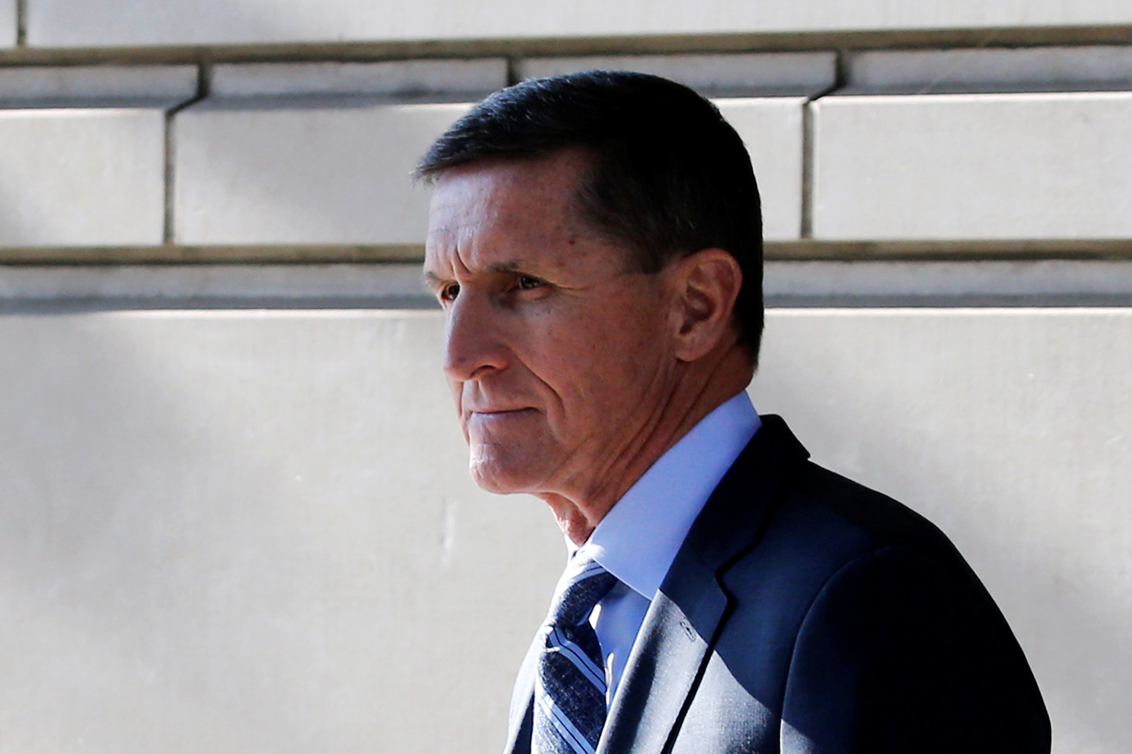 Michael Flynnen Washingtonen 2017. (REUTERS/Jonathan Ernst/archivo)