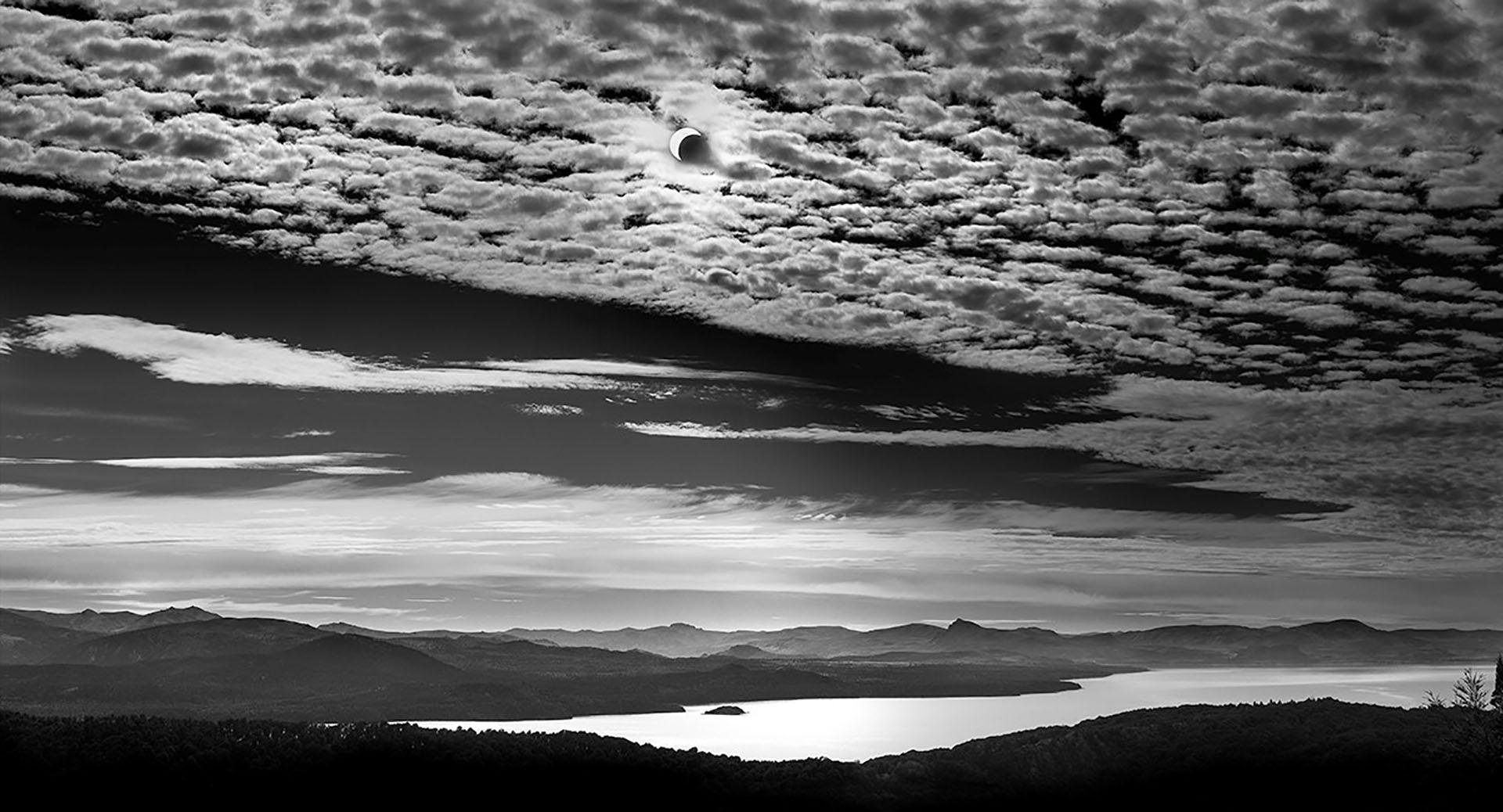A pesar del viento, Diego Ortiz Mugica estuvo encantado con las nubes en forma de corderitos