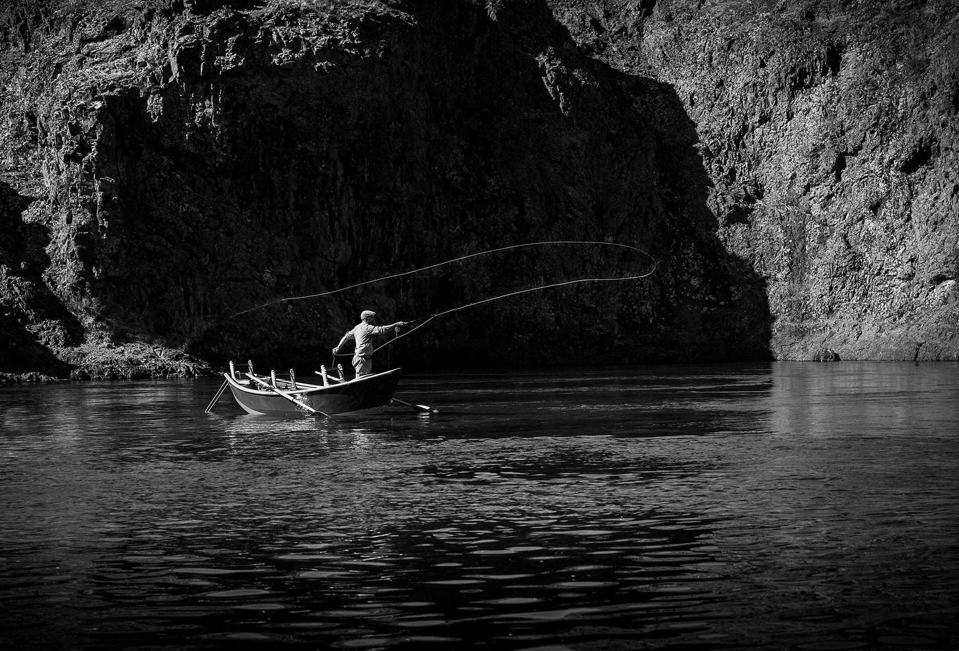 Fue una salida de pesca que fue la excelente oportunidad para fotografiar a su gran amigo