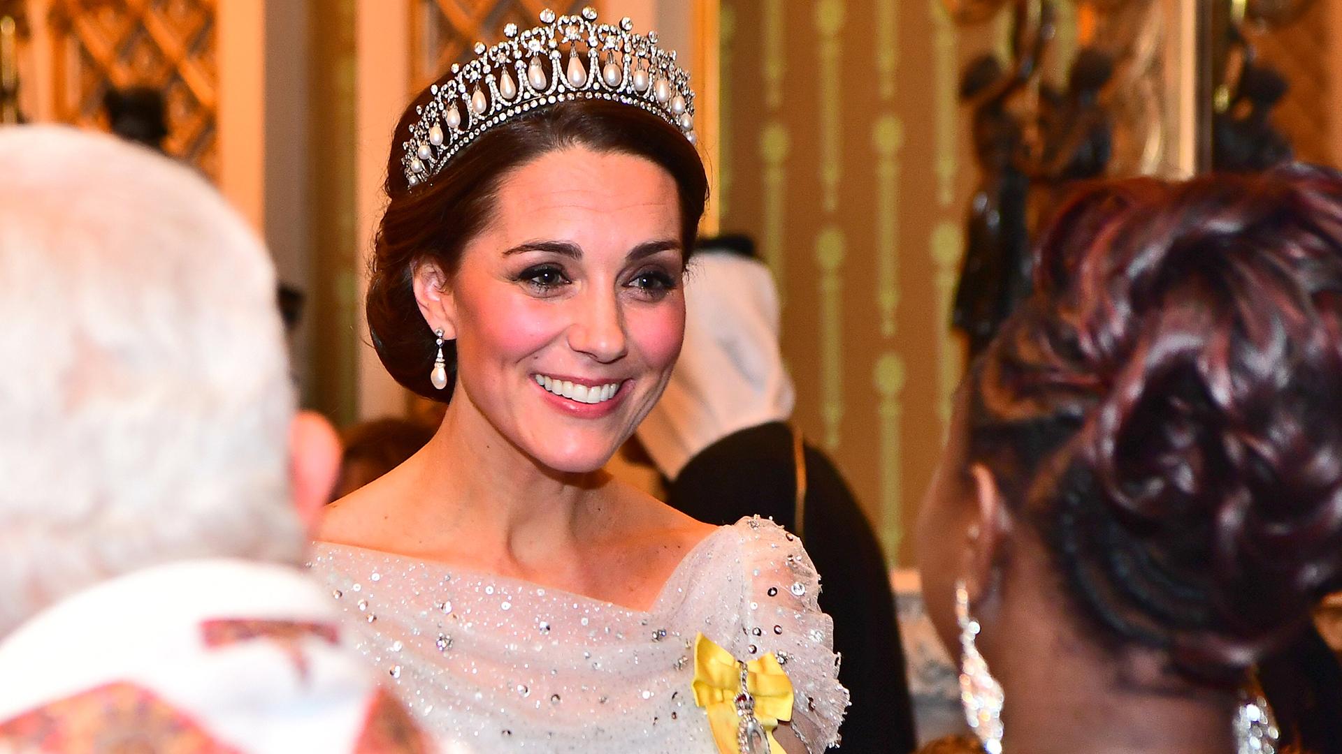 La llegada de Catalina, duquesa de Cambridge, esposa del príncipe Guillermo