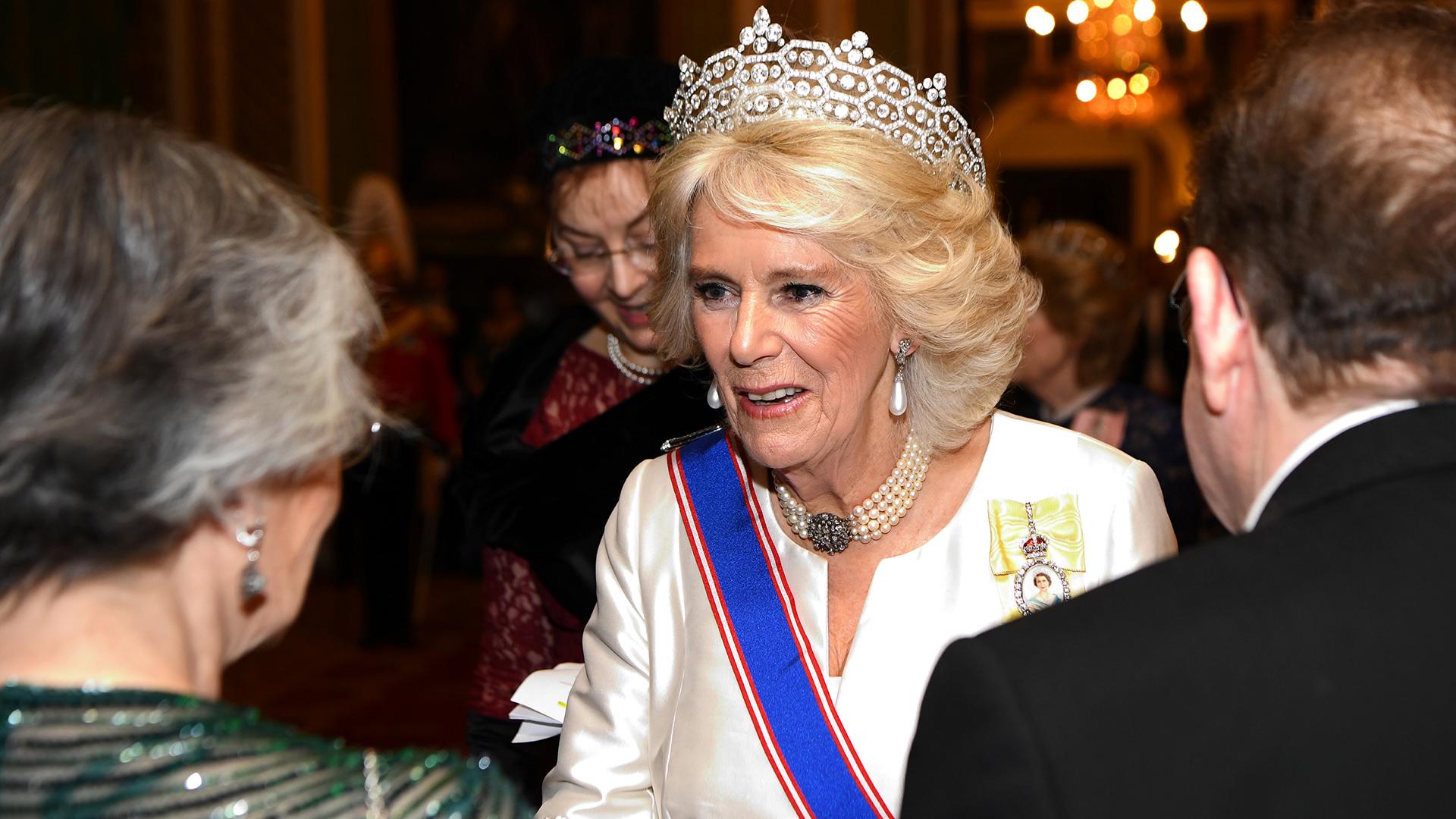 Camila, duquesa de Cornwall, estuvo entre los invitados de la familia real