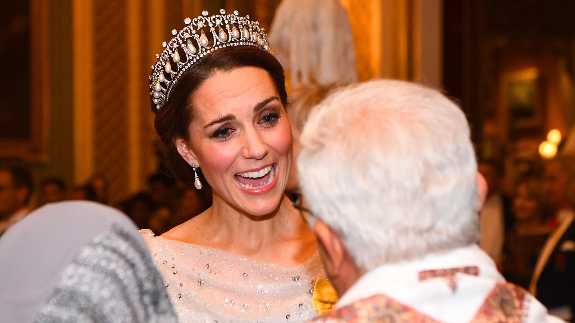 Accesible y simple, la duquesa dialogó con los invitados y se tomó su tiempo para conocerlos