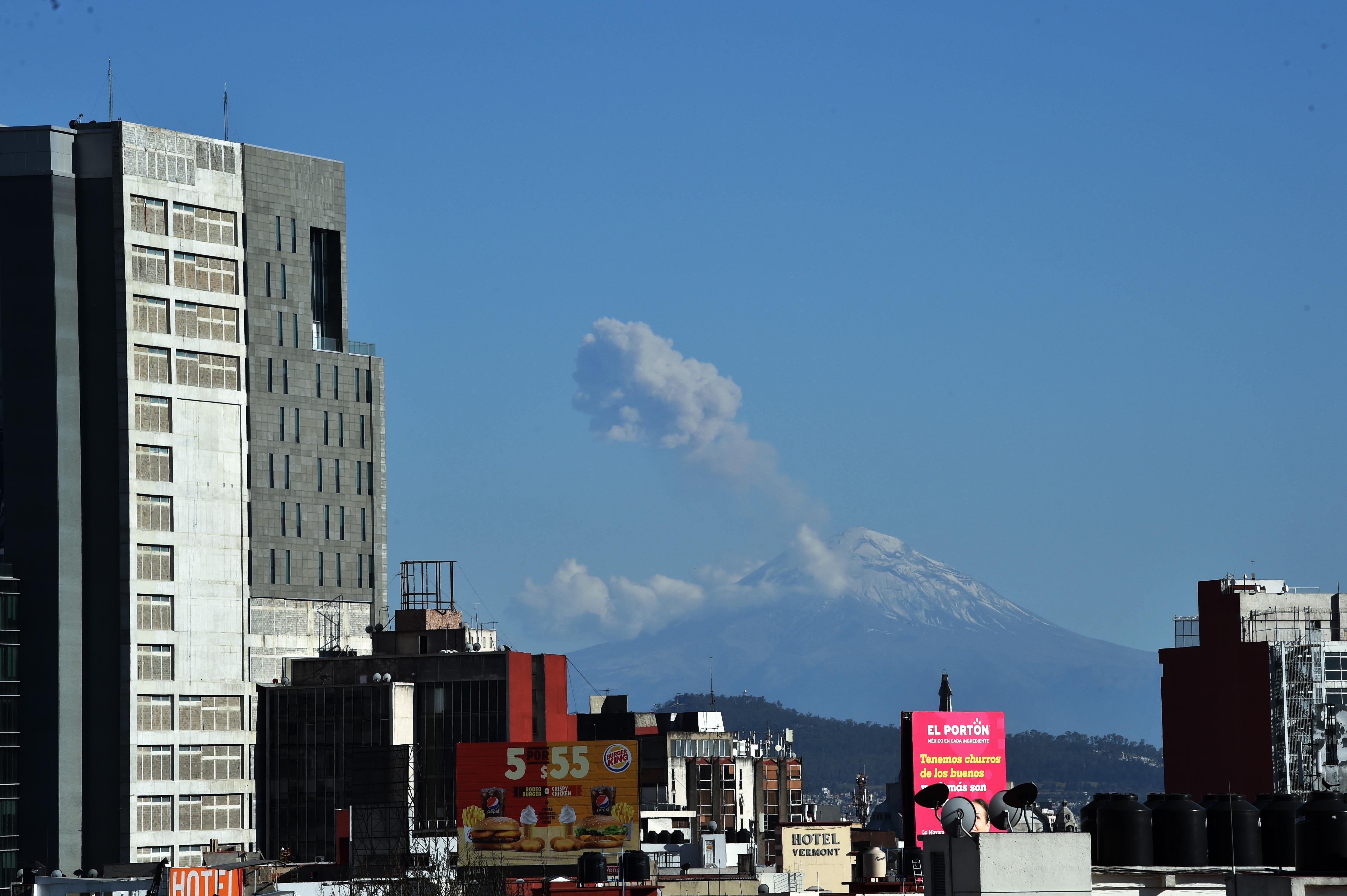 Ciudad de México es una de las zonas cercanas al volcán (Foto: Rodrigo Arangua / AFP)