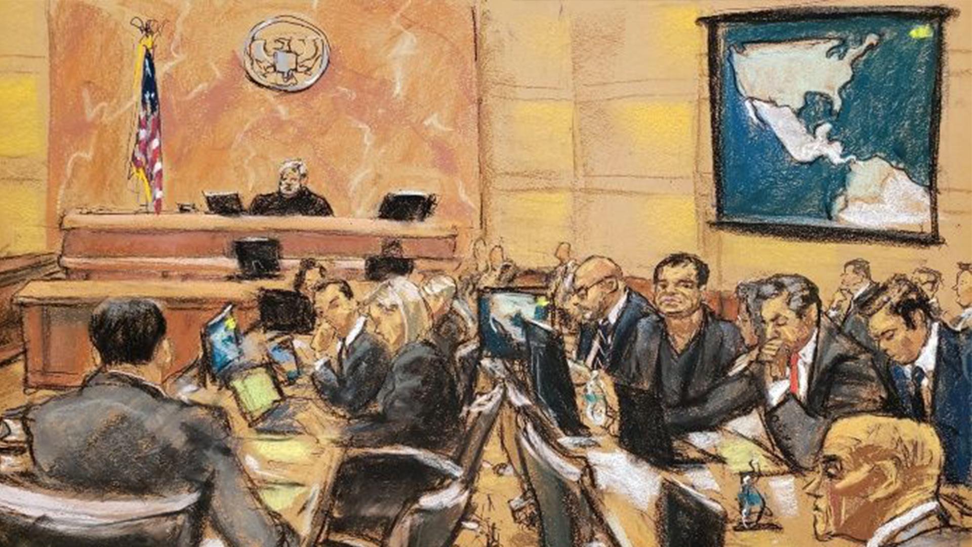 """El juicio contra """"El Chapo"""" inició en noviembre (Foto: EFE)"""