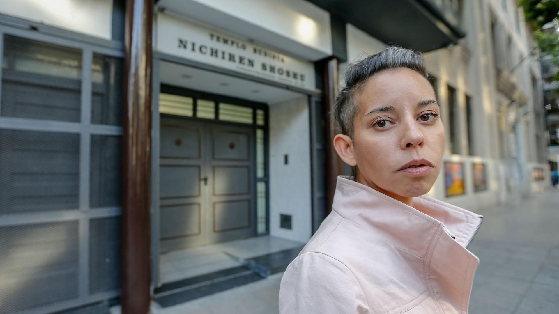 Cecilia a las puertas del templo: el supuesto ataque ocurrió en julio de 2017 en un hotel de Tokio.