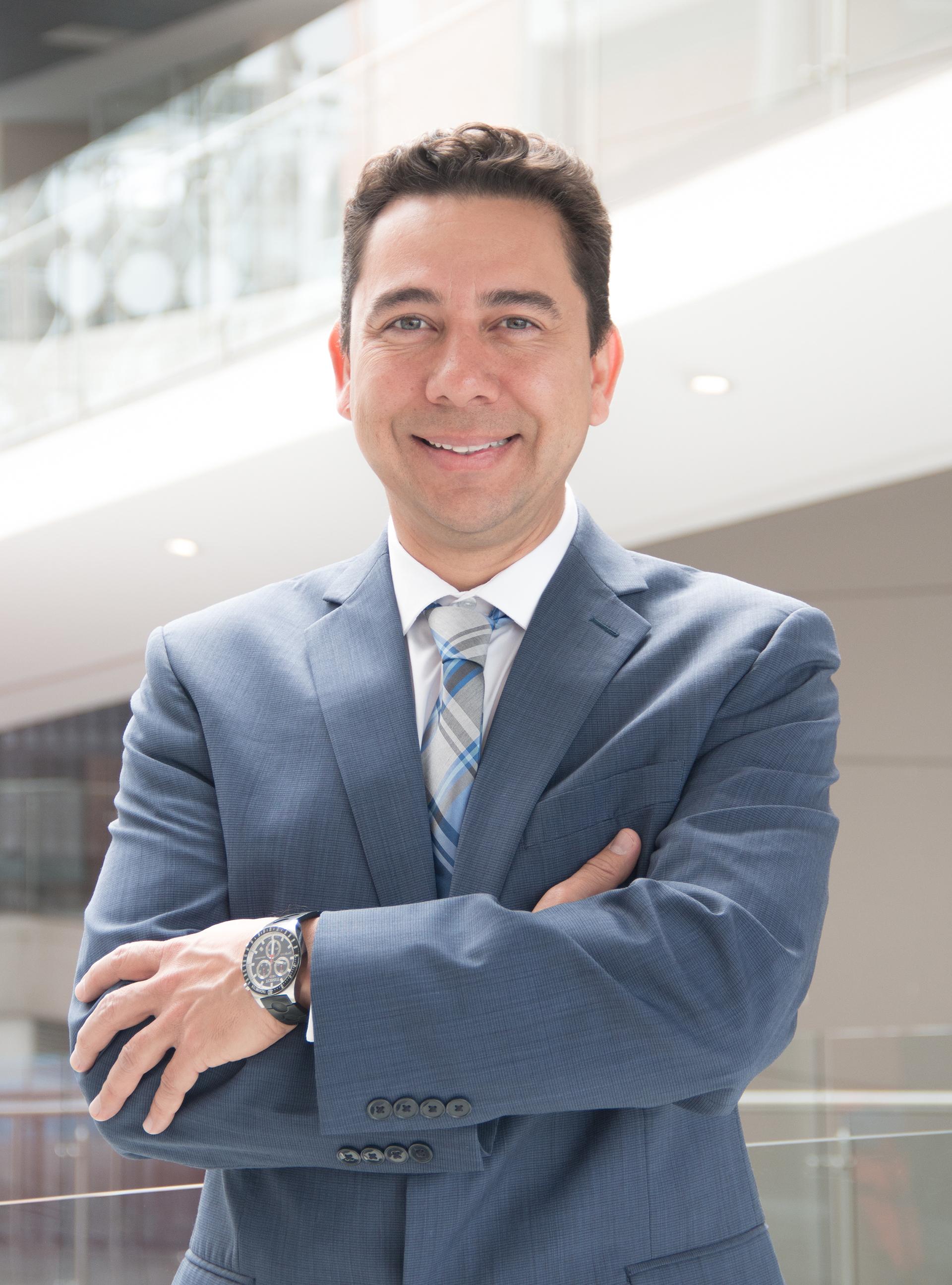 Víctor García Perdomo, profesor de la Universidad de la Sabana en Colombia