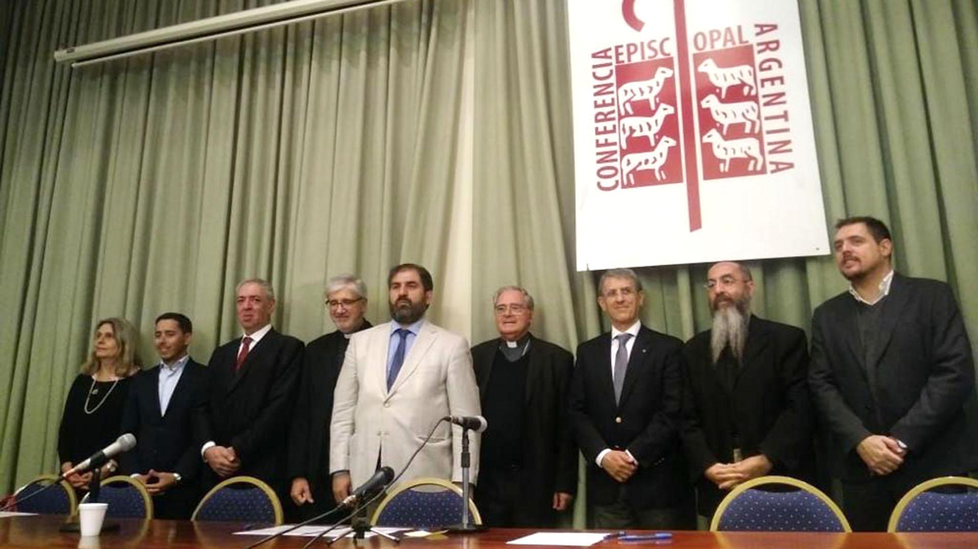 Referentes del catolicisimo, la comunidad judía y el islamismo se reunieron en la sede de la Conferencia Episcopal