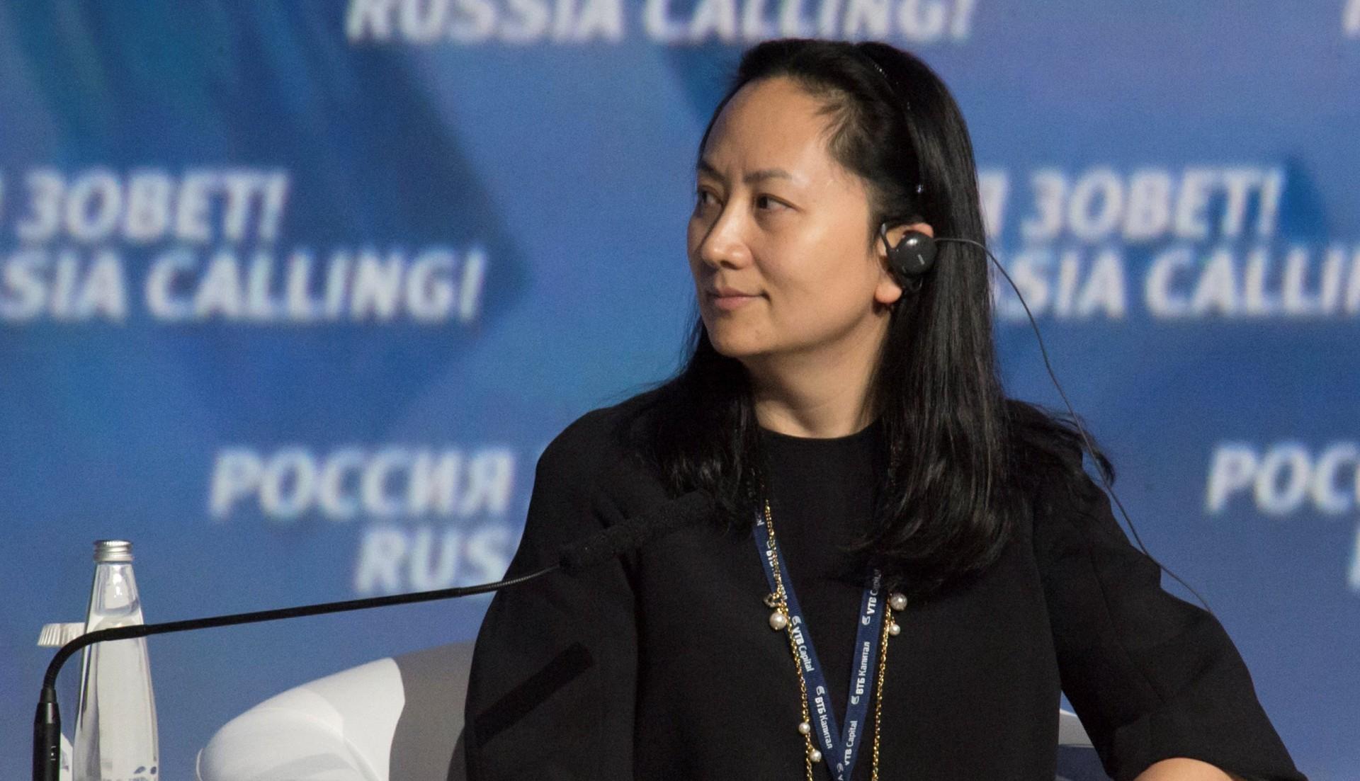 Meng Wanzhou, directora de finanzas de Huawei (REUTERS/Alexander Bibik)