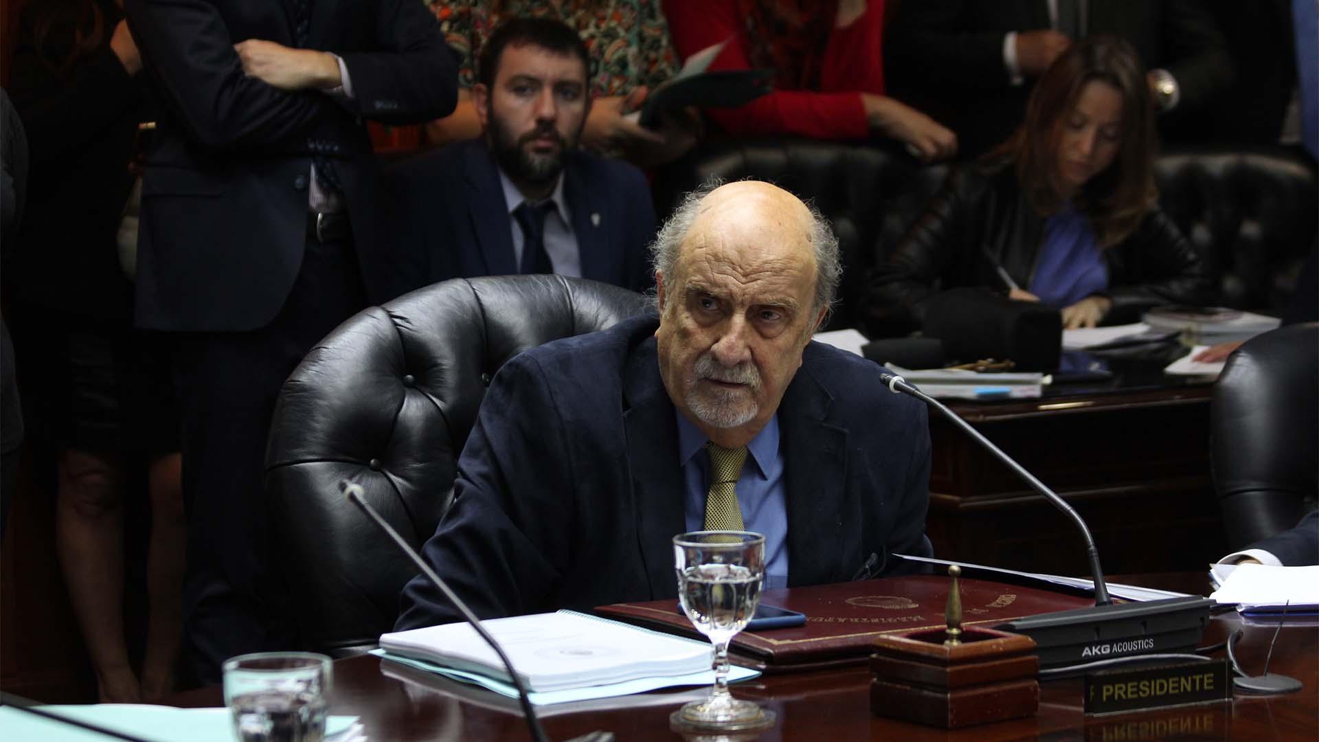 Ricardo Recondo, actual presidente del Consejo de la Magistratura (Matías Baglietto)