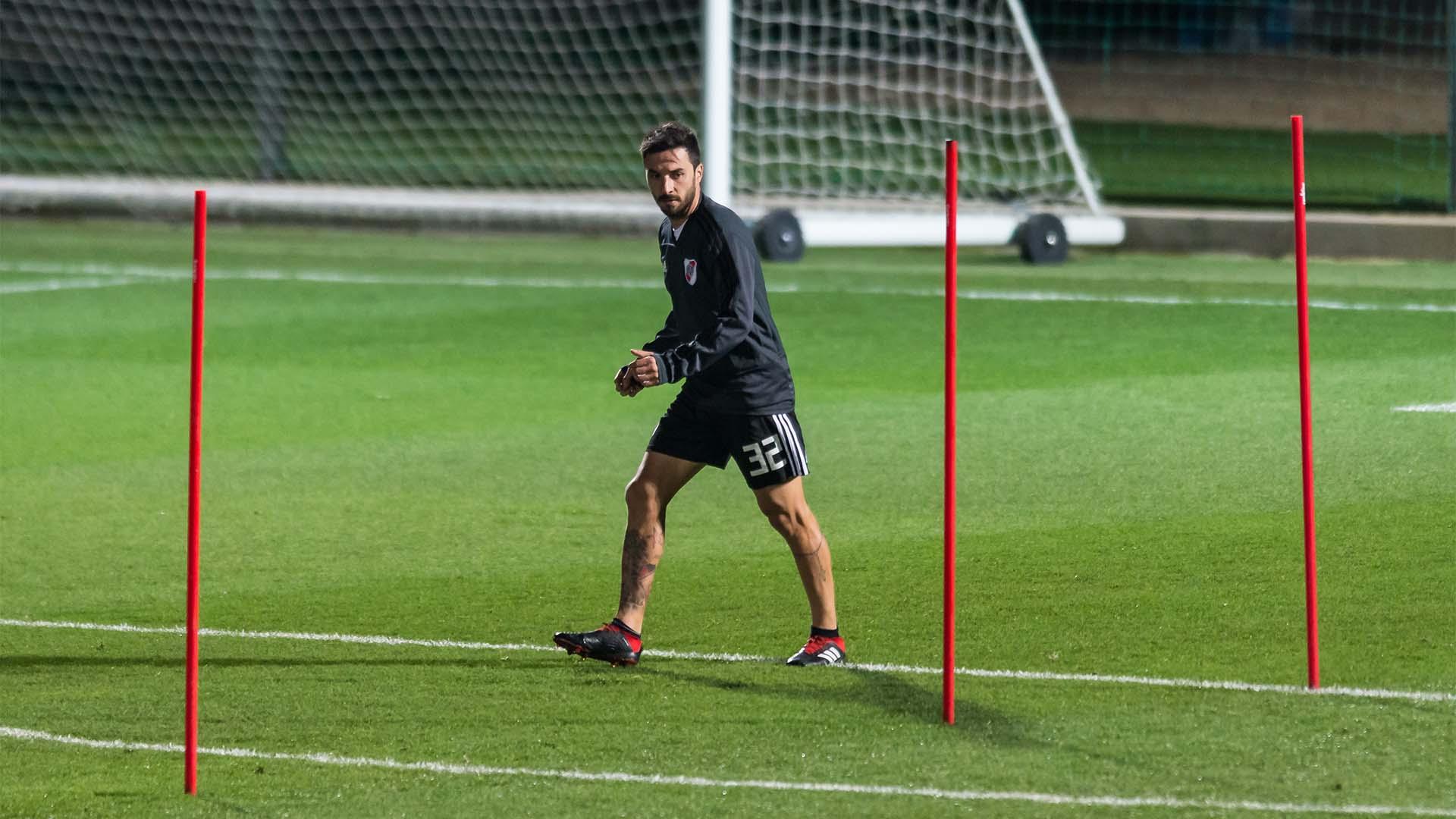 El goleador quiere ser parte del 11 inicial que presentará Marcelo Gallardo ante Boca