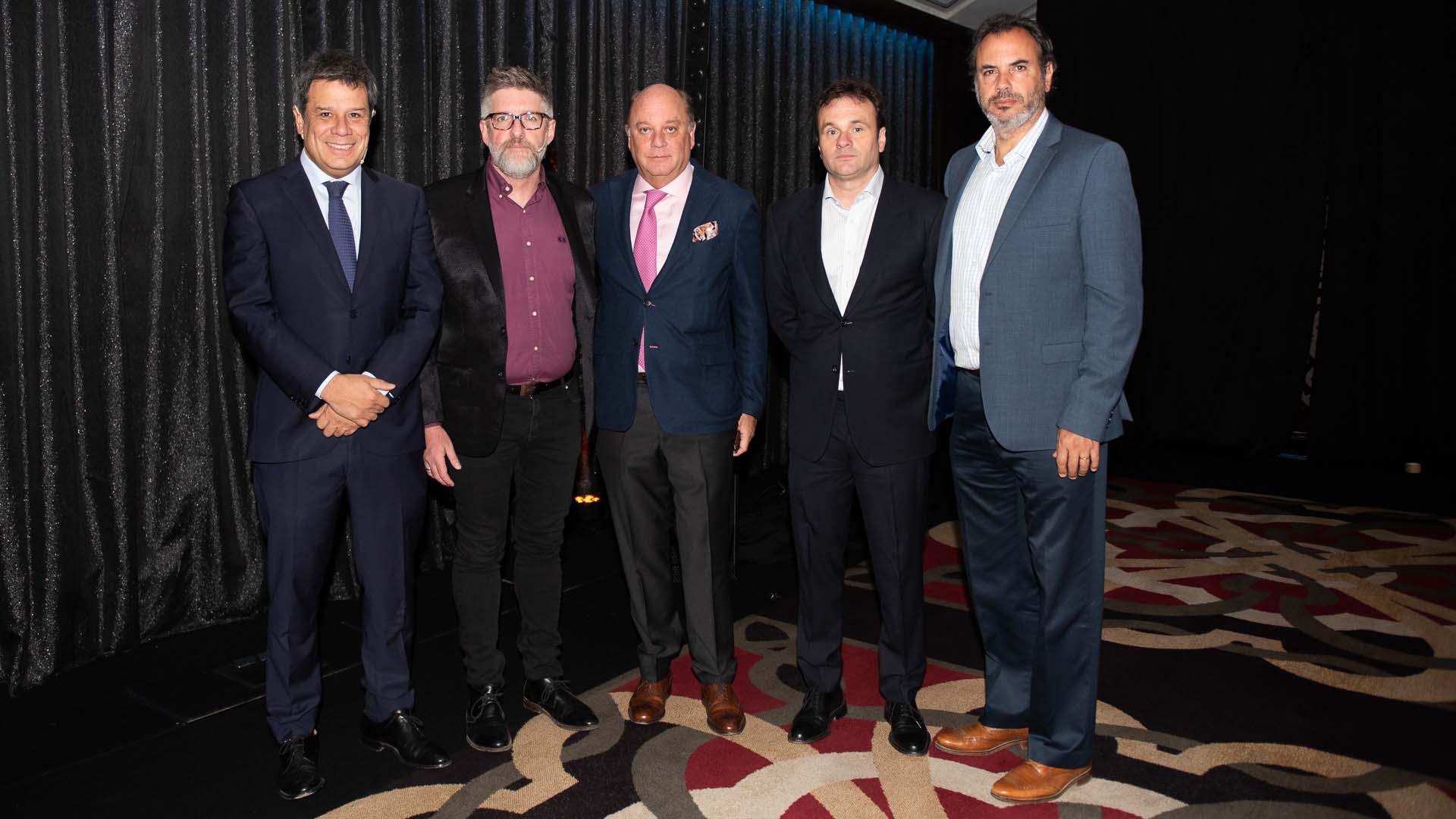 Facundo Manes, Luis Novaresio, Martín Cabrales, Juan Pablo Maglier y Rodolfo Smith Estrada