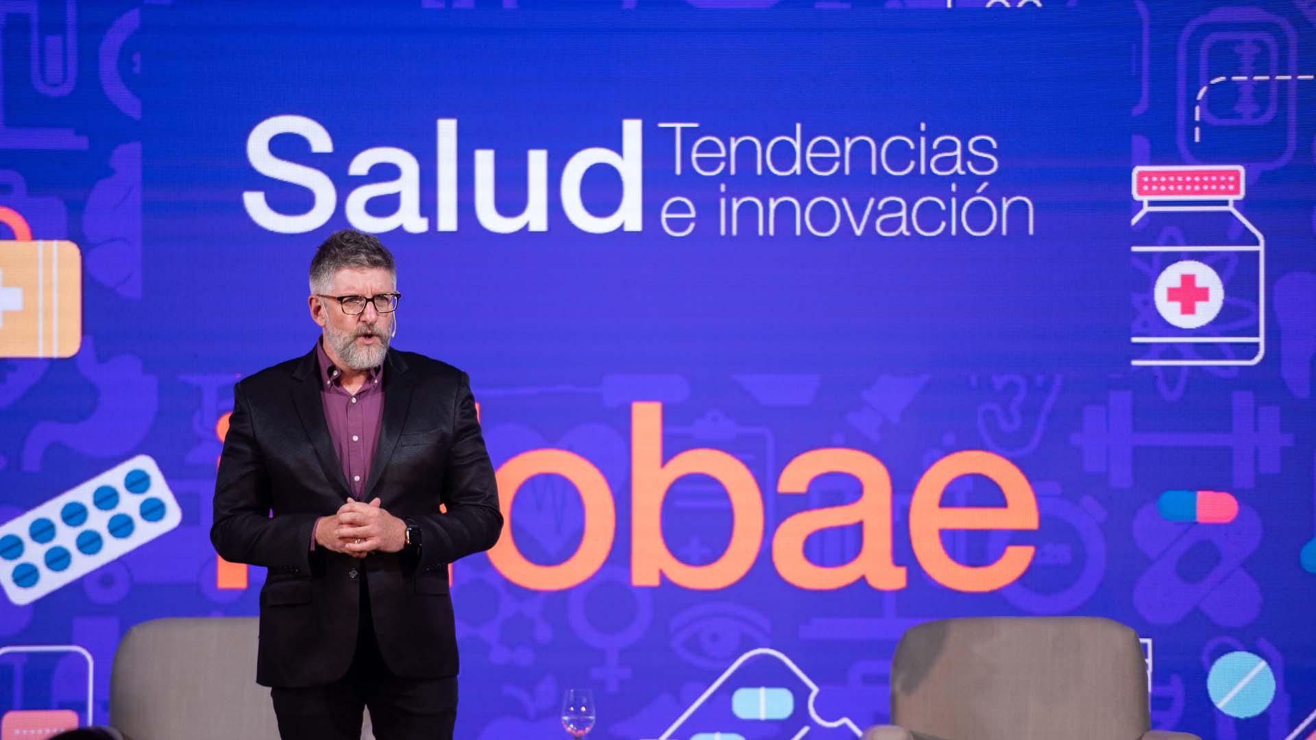 El periodista Luis Novaresio fue el moderador del ciclo durante 2018