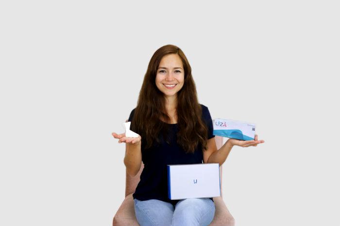 Ishtar Rizzo creó el dispositivo Liza, que permite detectar clamidia y en un futuro gonorrea y sífilis Foto: MIT Tec Review