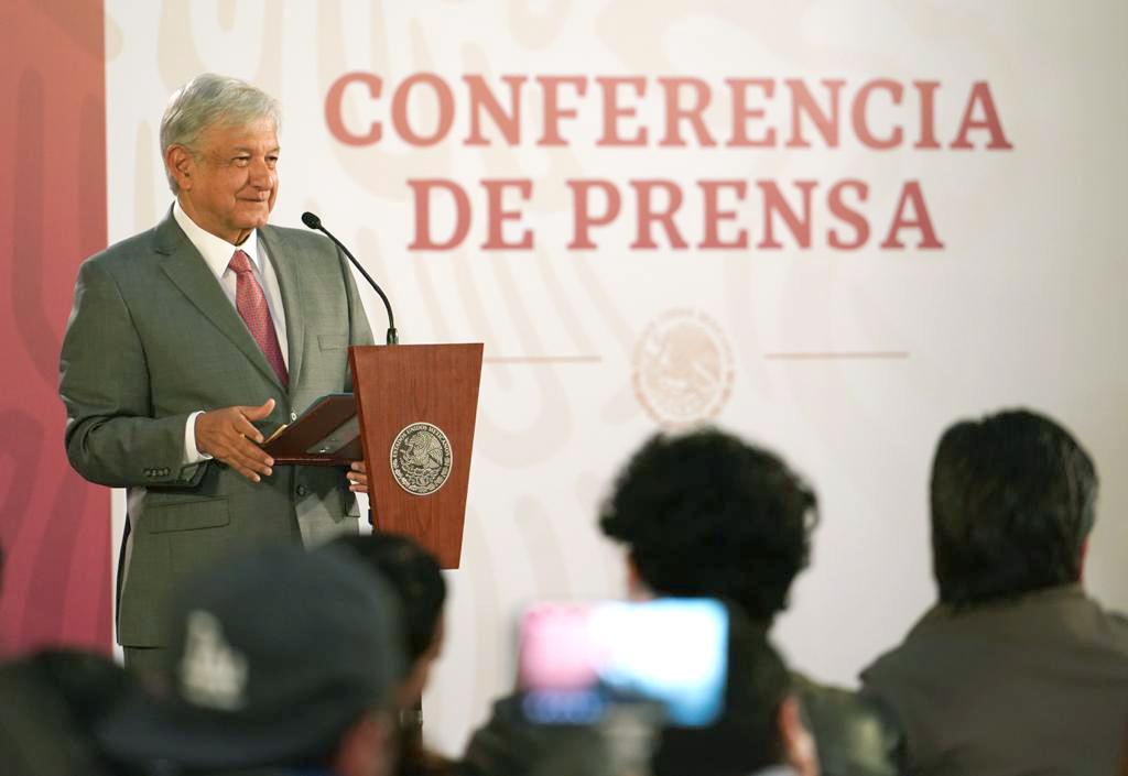 Conferencia de Prensa matutina (Foto: Presidencia de México)