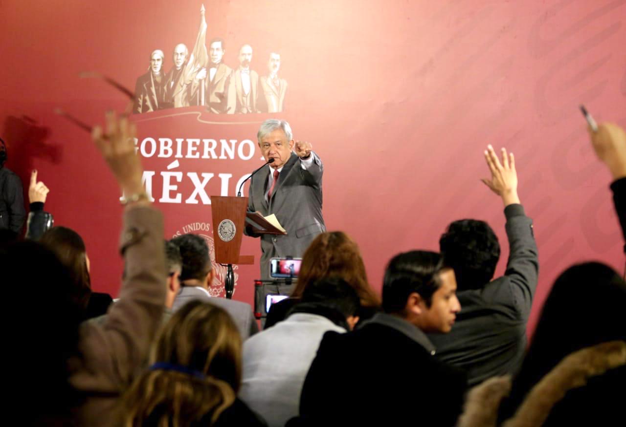 López Obrador busca incrementar el salario de los trabajadores federales (Foto: Presidencia de México)