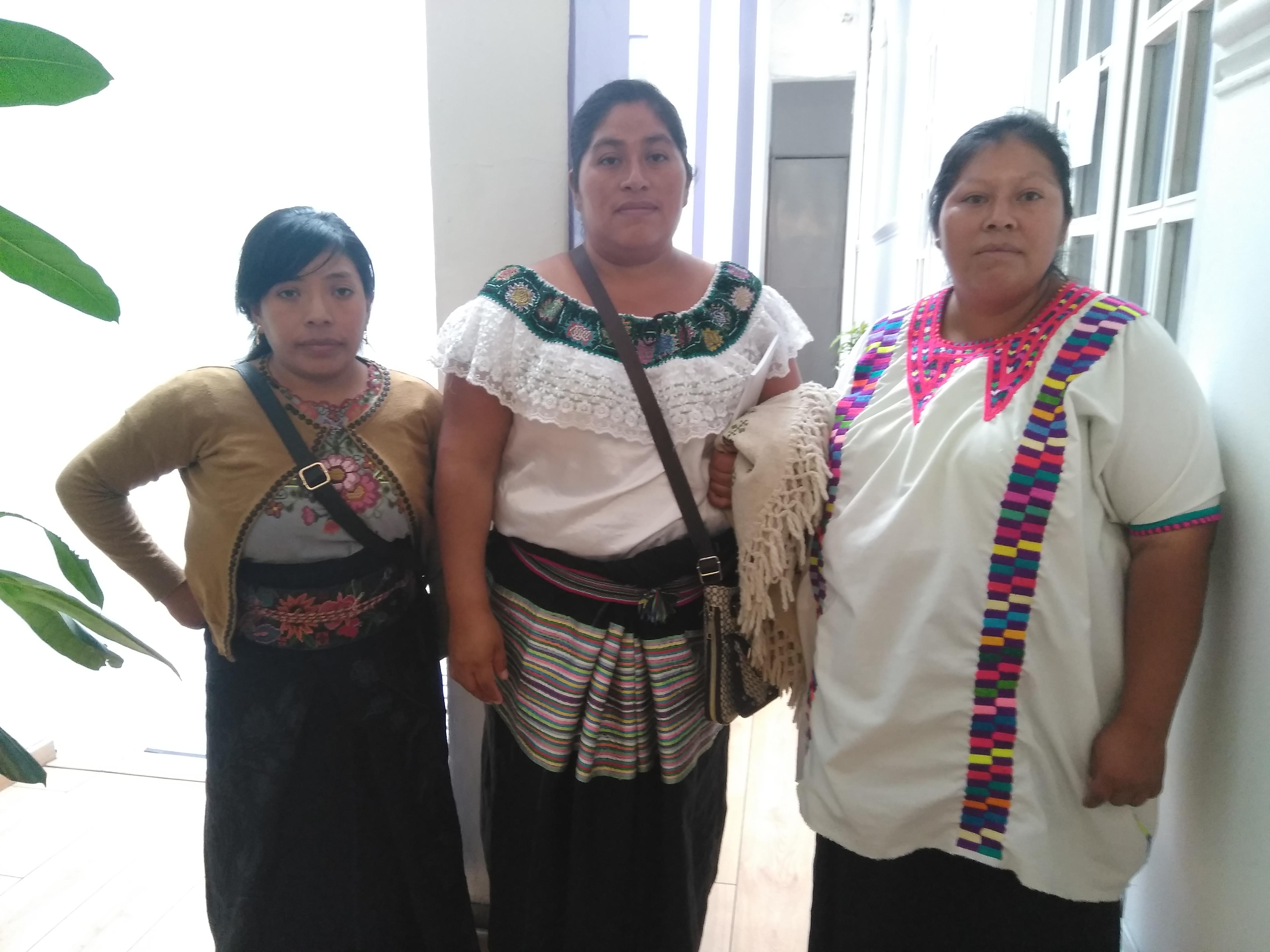 Comisionadas de la Caravana de Pies Cansados llegaron a la Ciudad de México para tener un acercamiento con el nuevo gobierno (Foto: Patricia Juárez/ Infobae México)